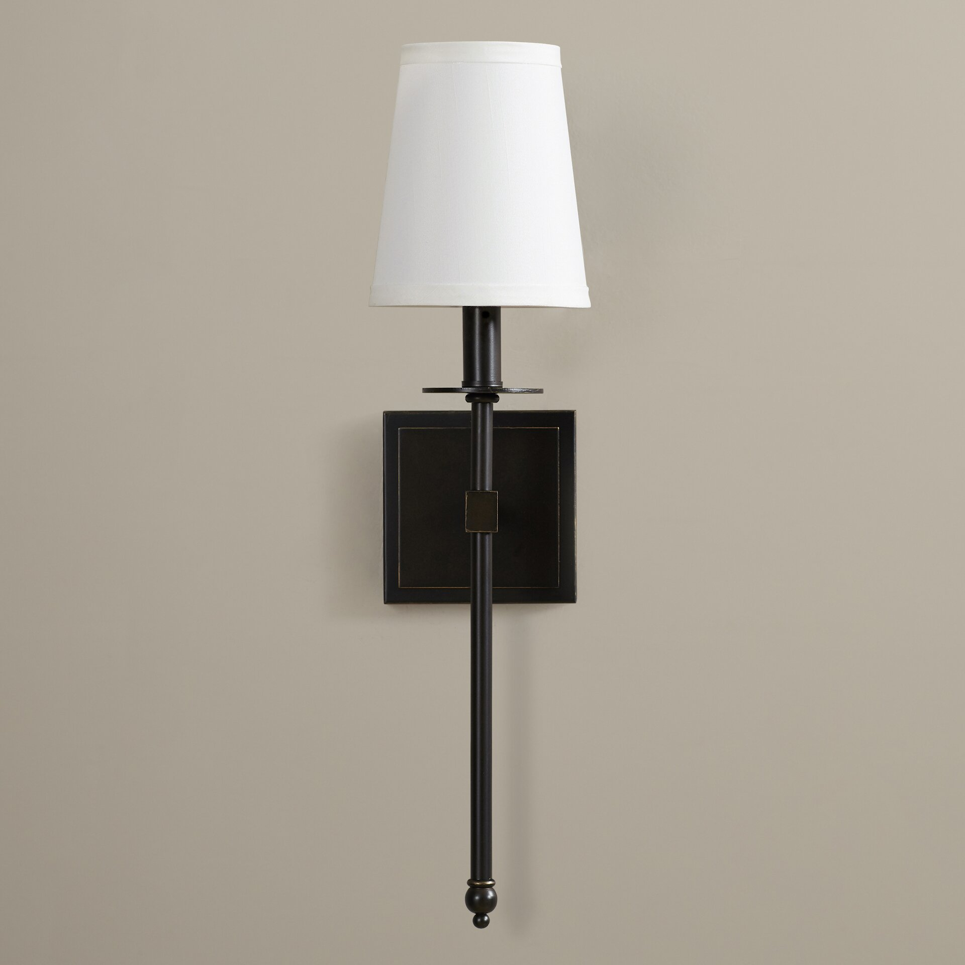 Wall Sconces Cooper Lighting : Three Posts Cooperstown 1 Light Wall Sconce & Reviews Wayfair
