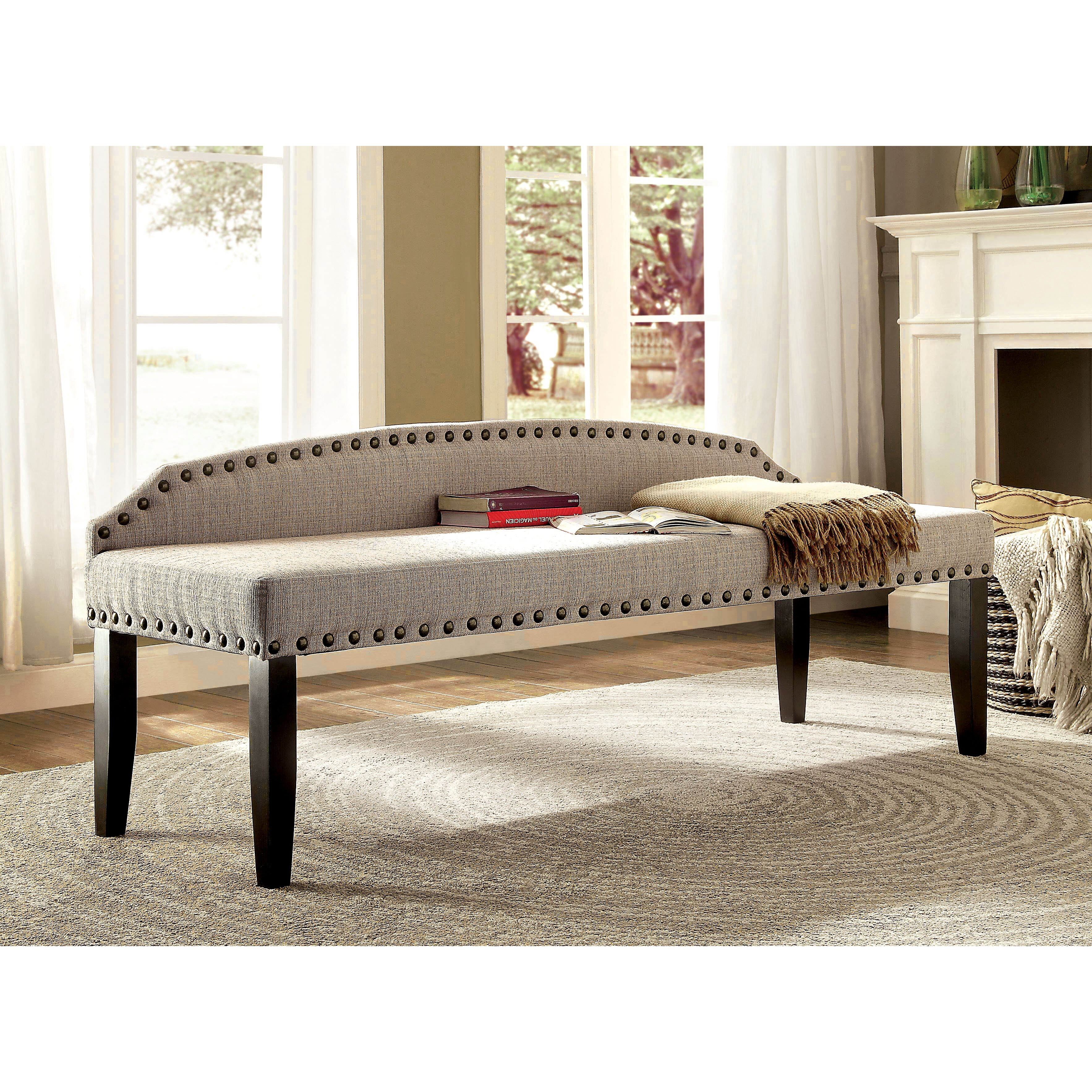 Three Posts Millersburg Upholstered Bedroom Bench Reviews Wayfair