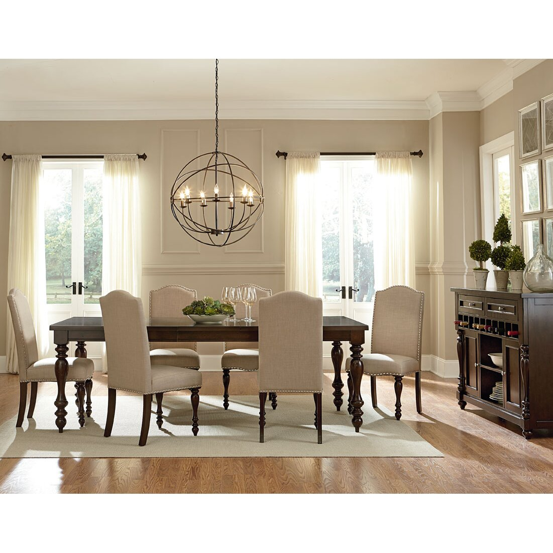 Three posts lanesboro 7 piece dining set reviews wayfair for 3 piece dining room set