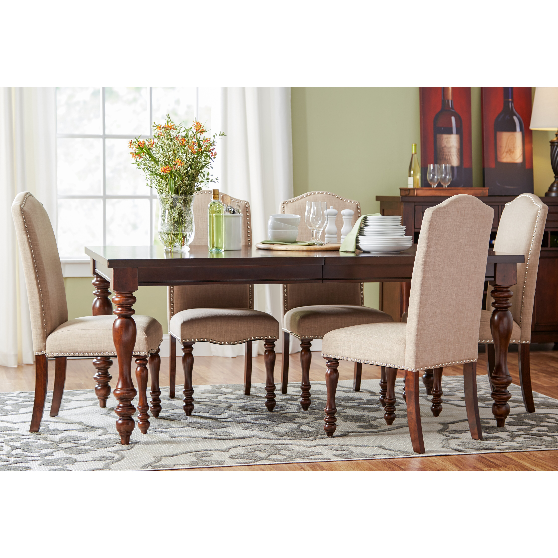 Lanesboro 7 Piece Extendable Dining Set: Three Posts Chilton 7 Piece Dining Set & Reviews
