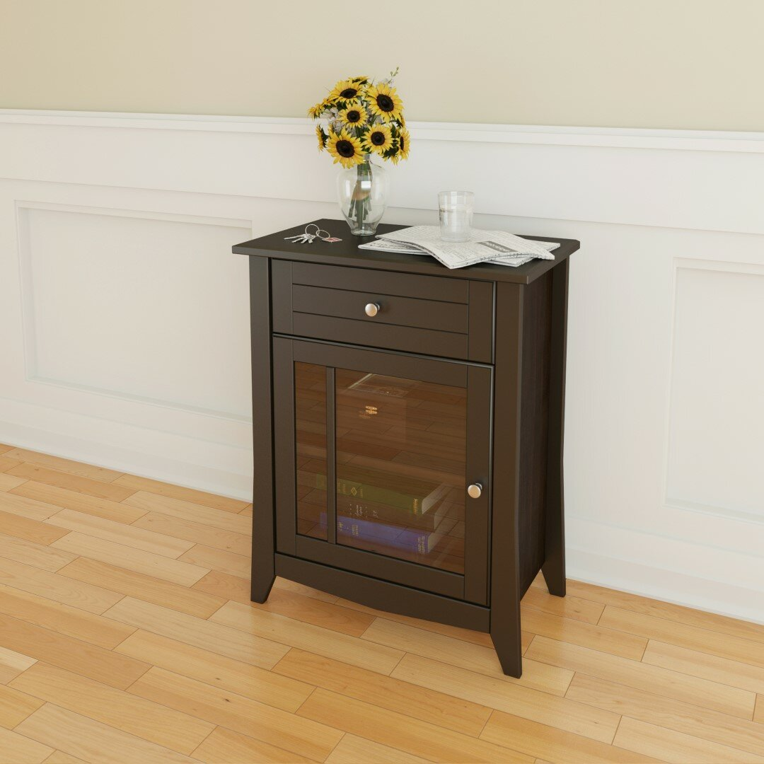 Foyer Console Cabinet : Three posts steuben drawer hall console cabinet