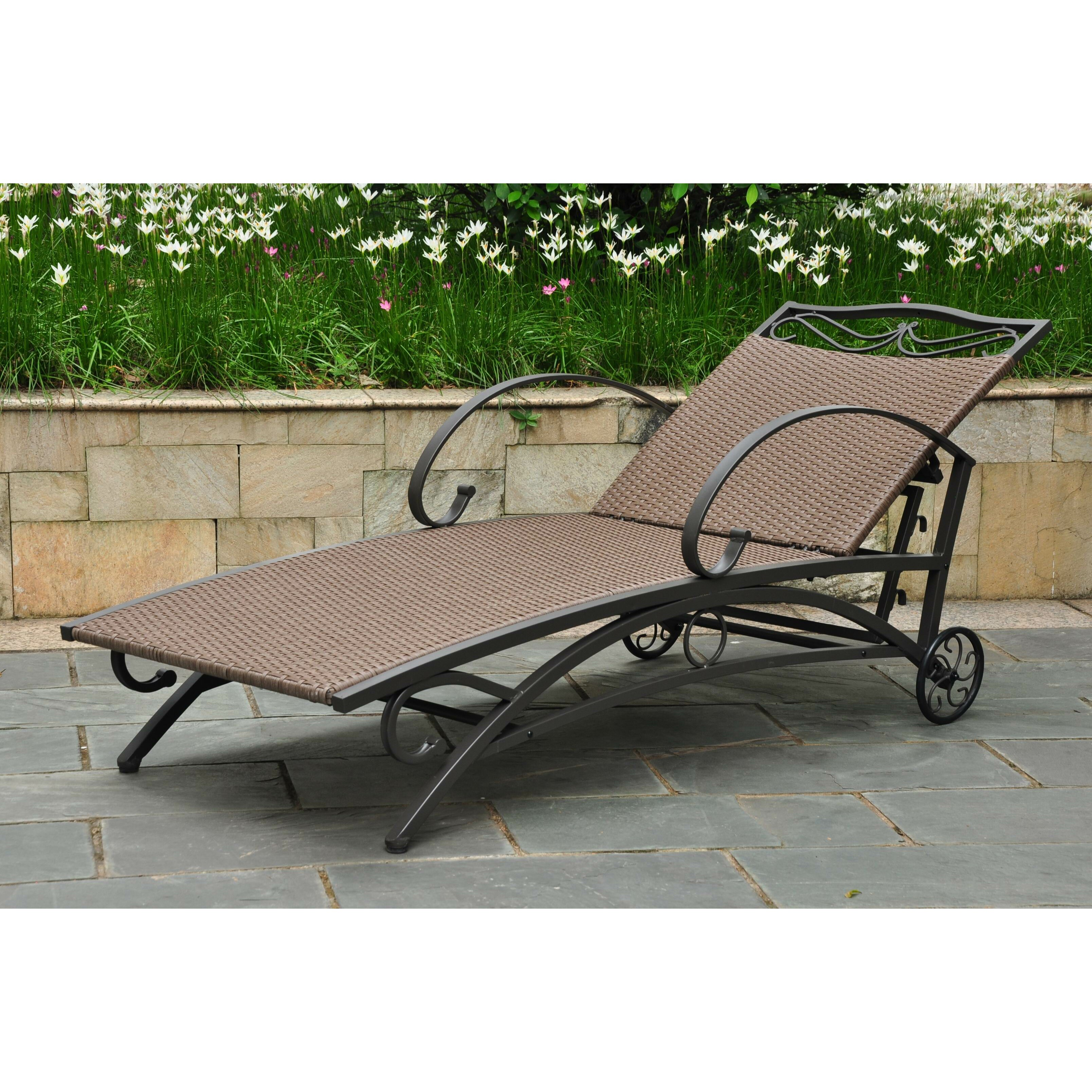Resin Wicker Outdoor Daybed Sofa: Three Posts Snowberry Chaise Lounge & Reviews