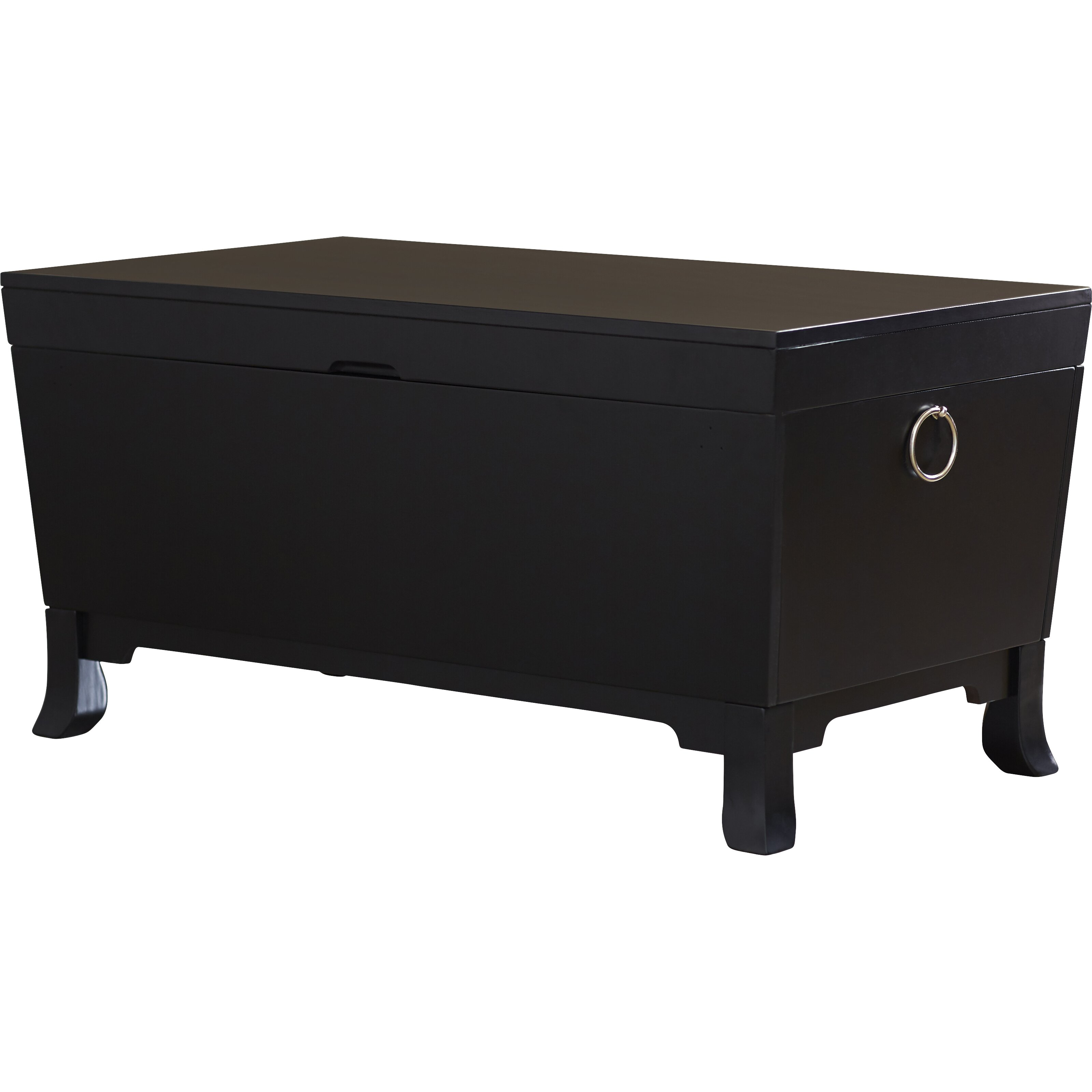 Three Posts Orchard Park Trunk Coffee Table With Lift Top Reviews Wayfair