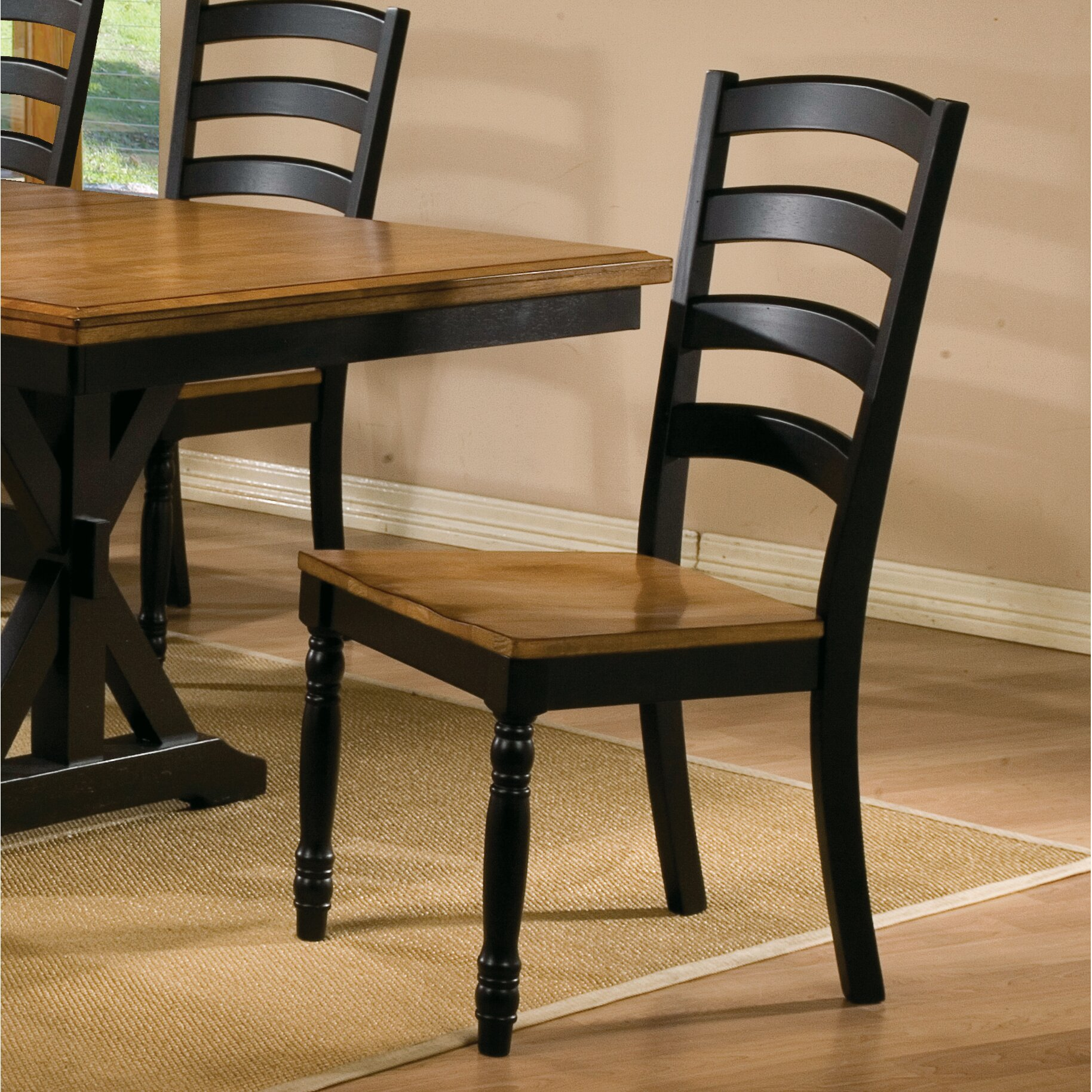 Three Posts Courtdale Ladder Back Side Chair Amp Reviews