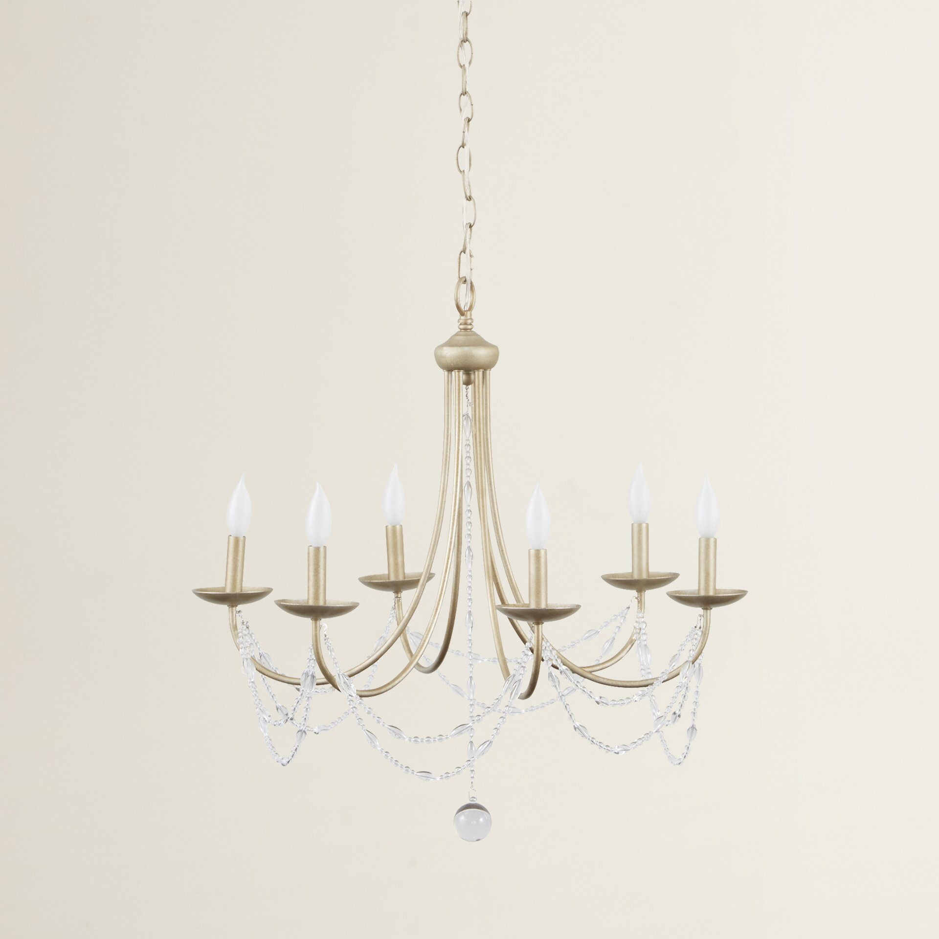 Three Posts Atwood 6 Light Candle Style Chandelier