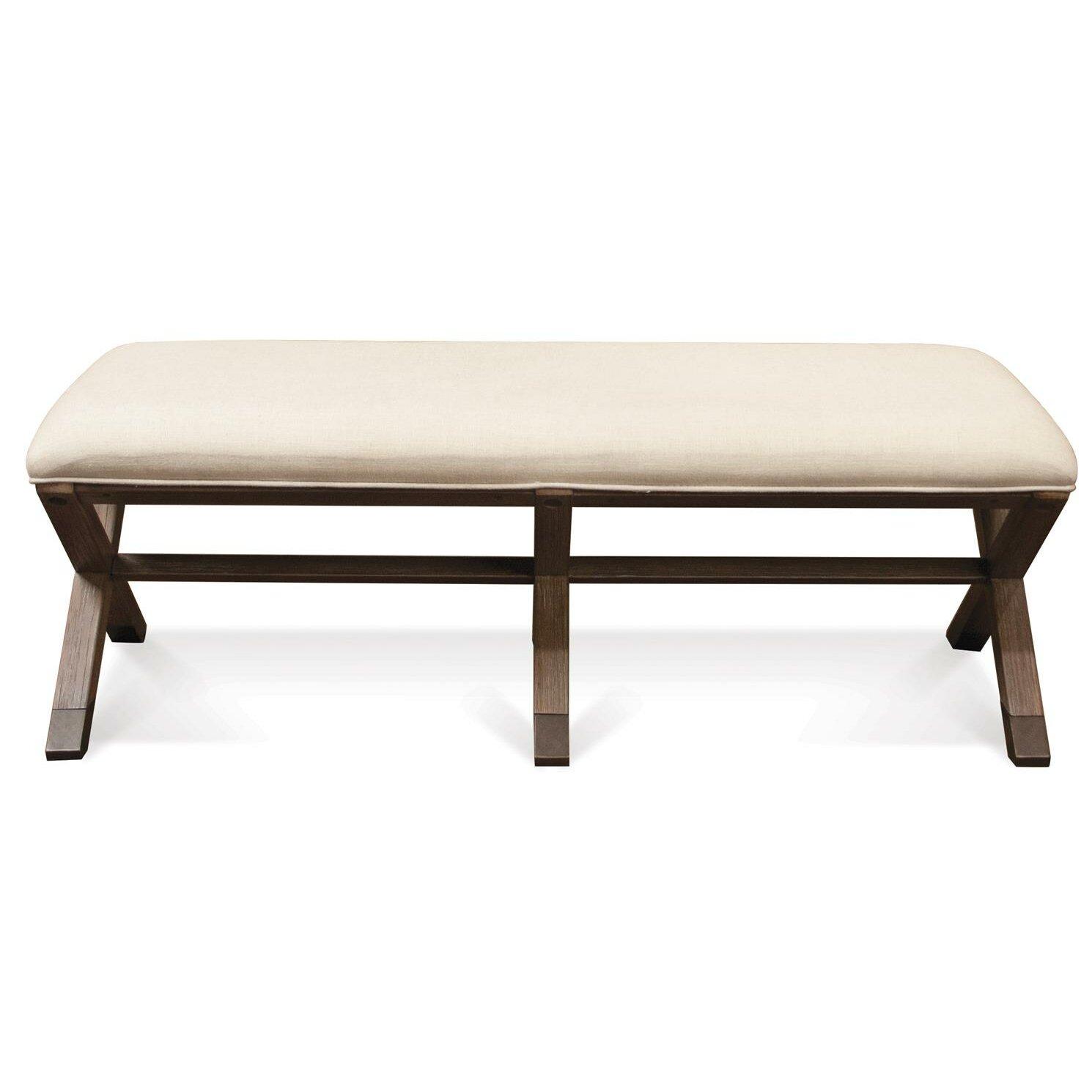 august grove lyons wood bedroom bench reviews wayfair