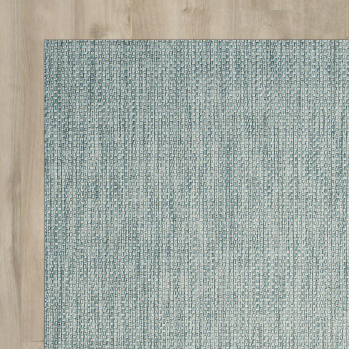 three posts adelia aqua gray area rug reviews wayfair. Black Bedroom Furniture Sets. Home Design Ideas