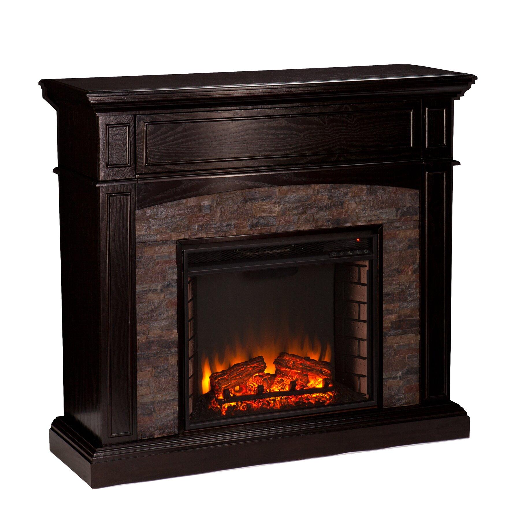 Three Posts Yvonne Corner Electric Fireplace Reviews Wayfair