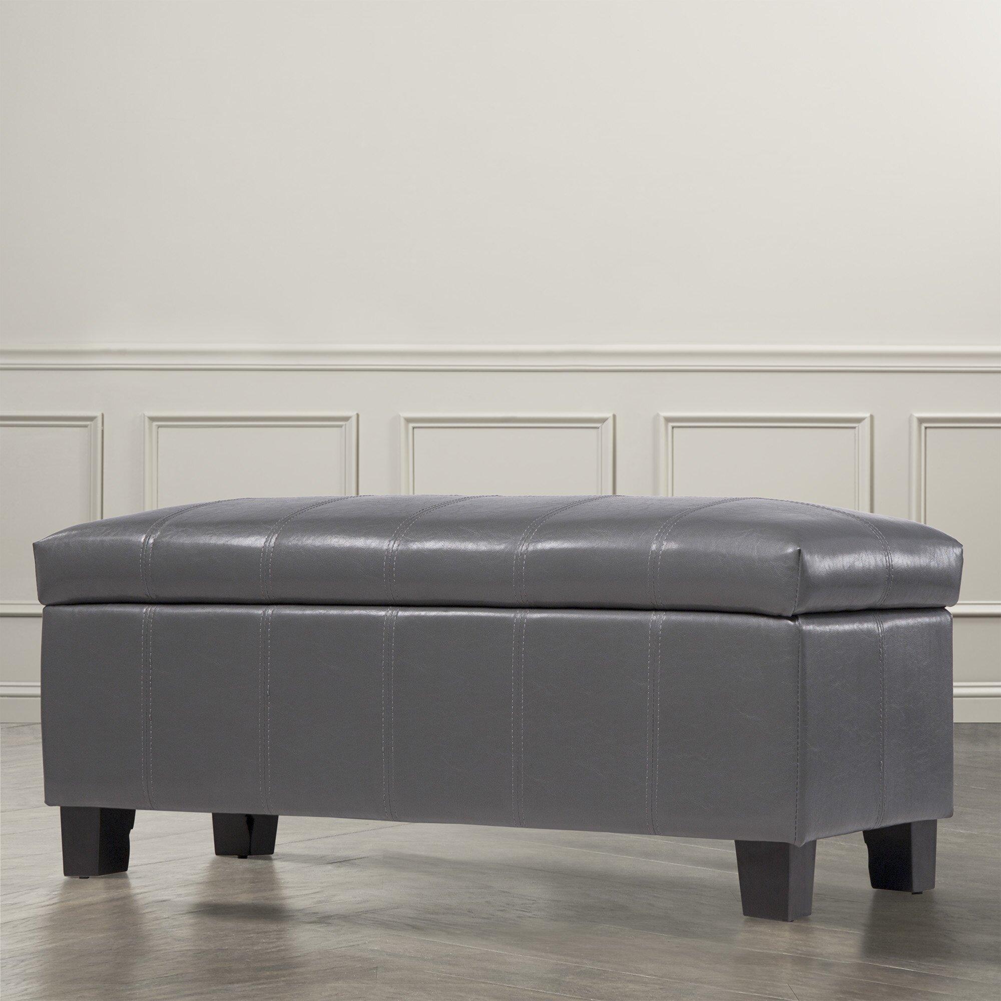 Three posts kendrick upholstered storage bedroom bench - Bedroom storage bench upholstered ...
