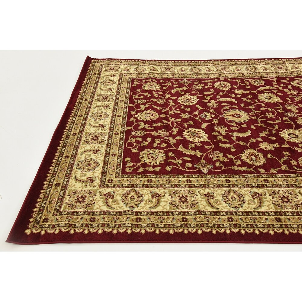 Three posts fairmount red cream area rug reviews for Cream and red rugs