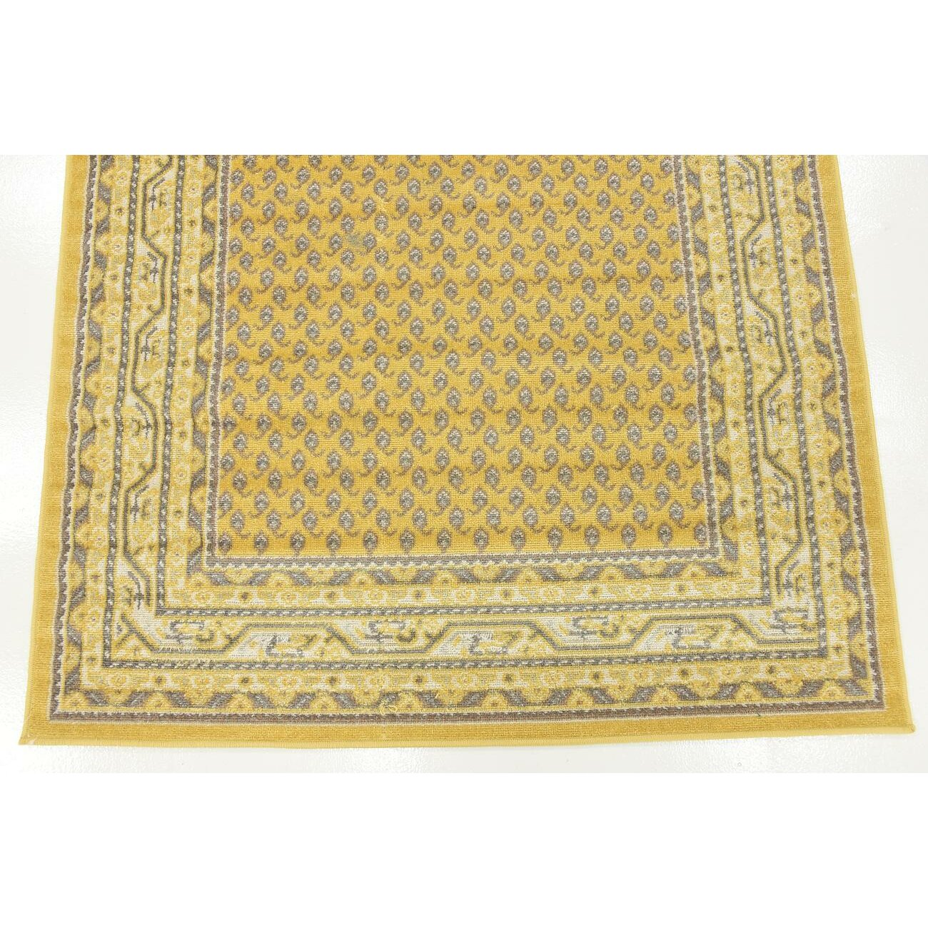 Three Posts Gillam Yellow Area Rug Amp Reviews Wayfair