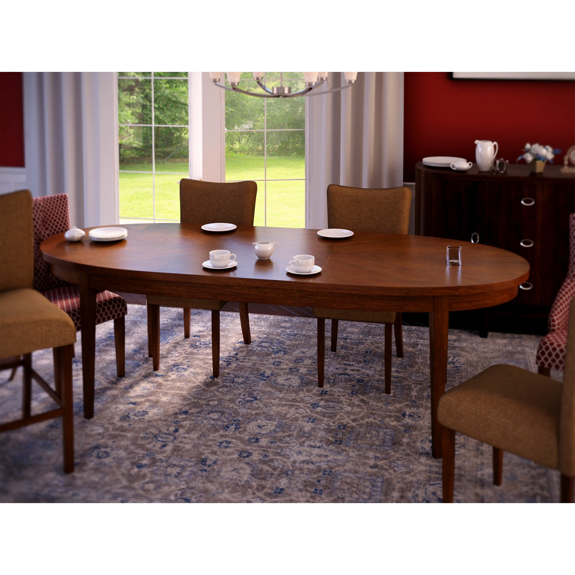 Three Posts Townville Extendable Dining Table amp Reviews  : Townville Extendable Dining Table THRE3316 from www.wayfair.com size 2000 x 2000 jpeg 590kB
