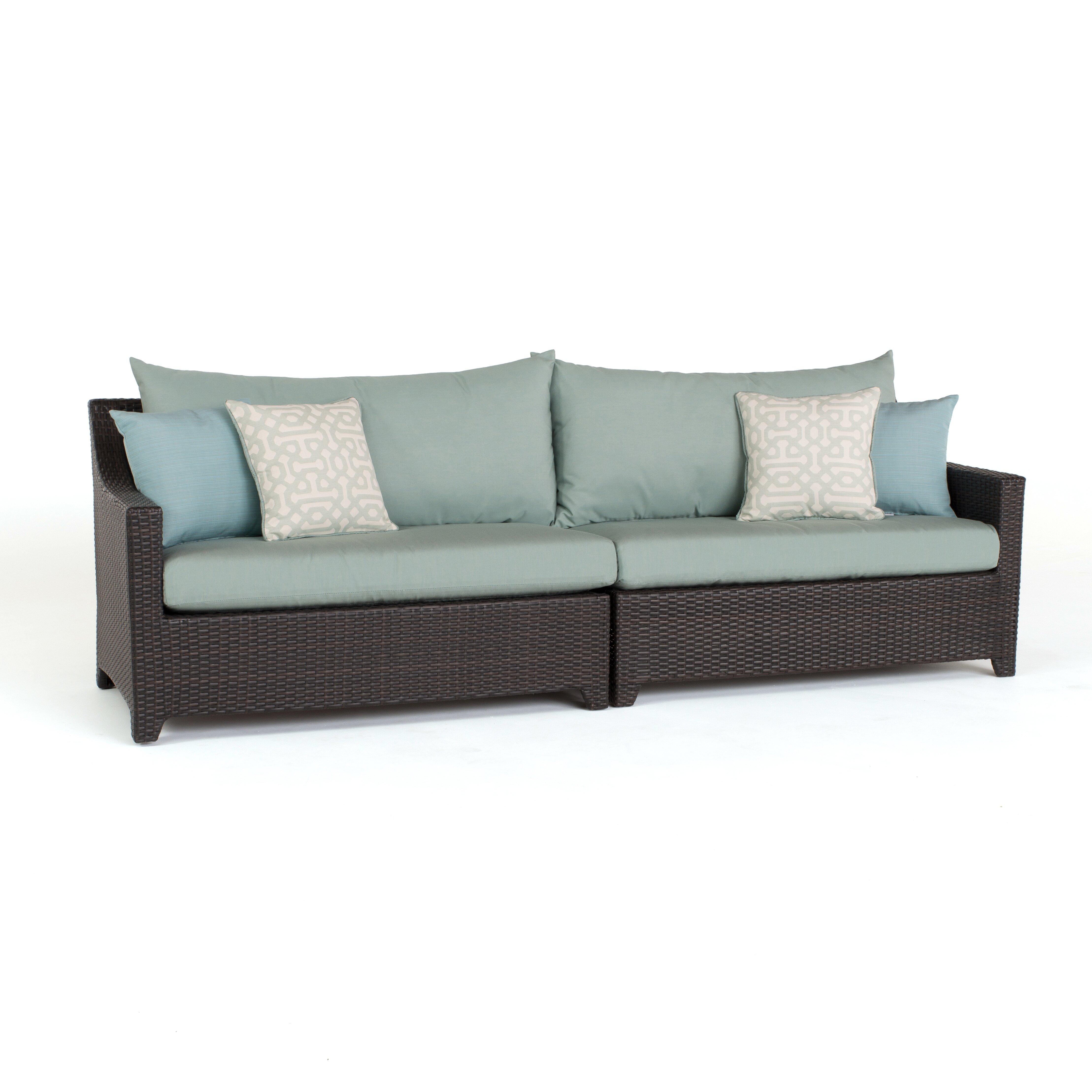 Three Posts Northridge Patio Sofa with Cushion & Reviews | Wayfair