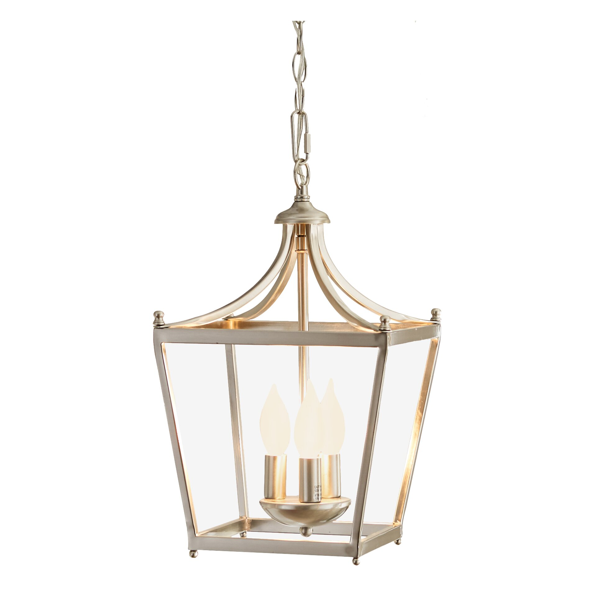 Three Posts Brickyard 3 Light Foyer Pendant Amp Reviews