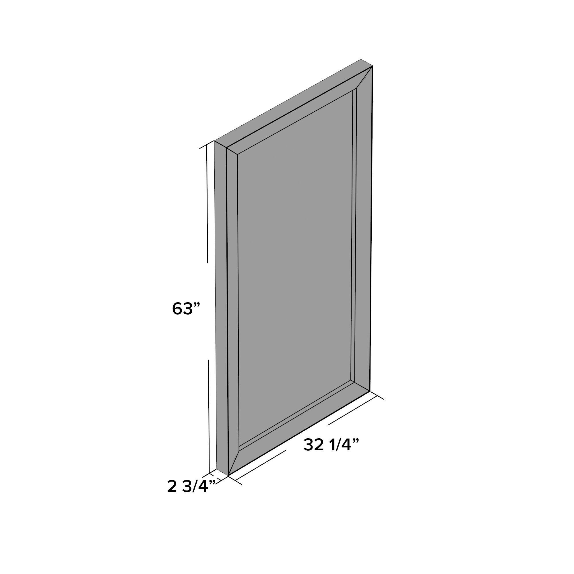 Three posts madelina floor mirror reviews wayfair for Glass floor mirror