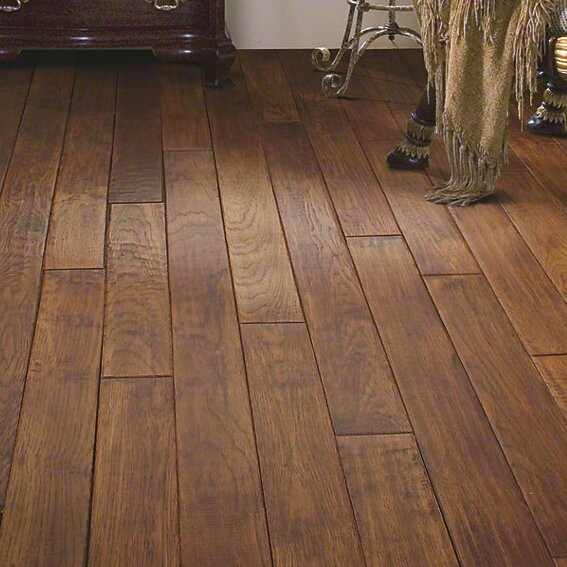 Forest valley flooring chimney rock 4 solid hickory for Columbia wood flooring reviews