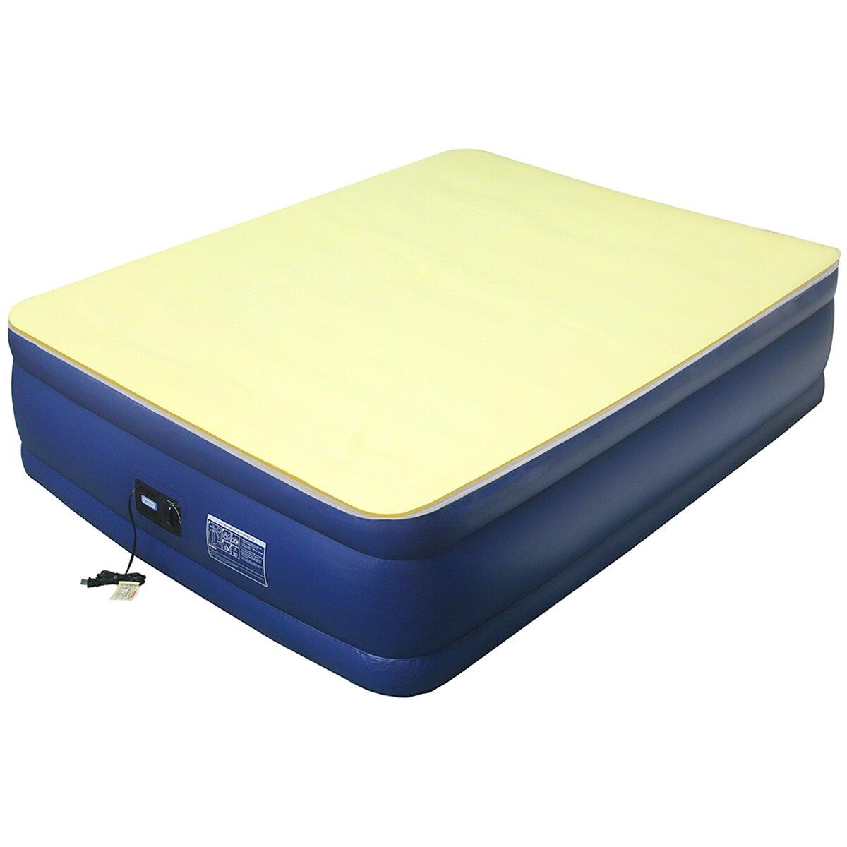 Altimair Essentials Airbed High 1 Density Memory Foam Mattress Topper Reviews Wayfair