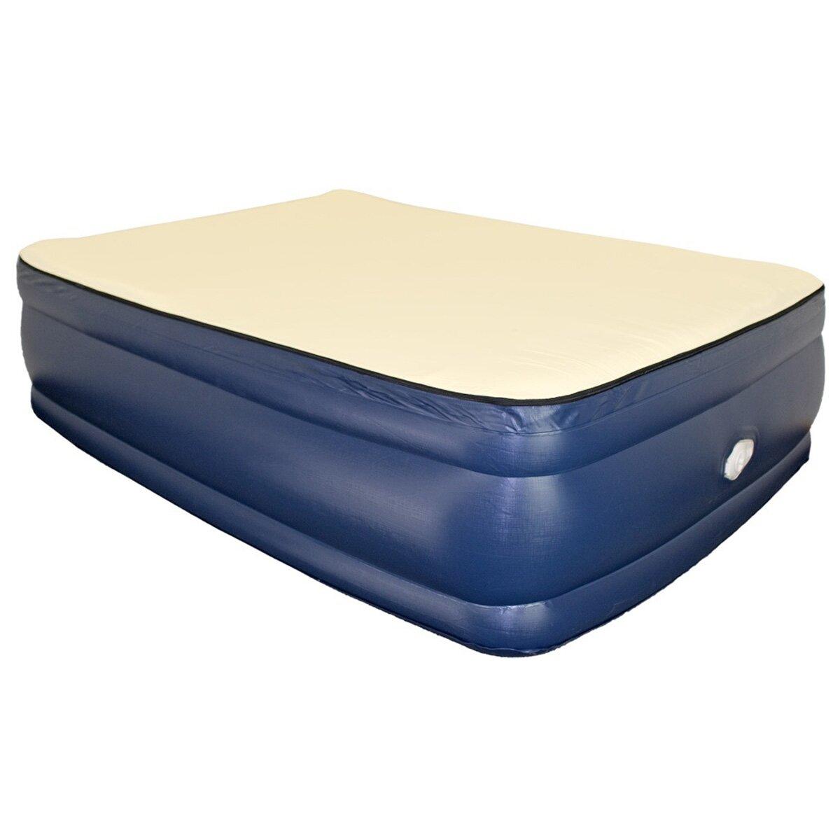 Airtek Foundation 3 4 Quot Raised Memory Foam Air Mattress
