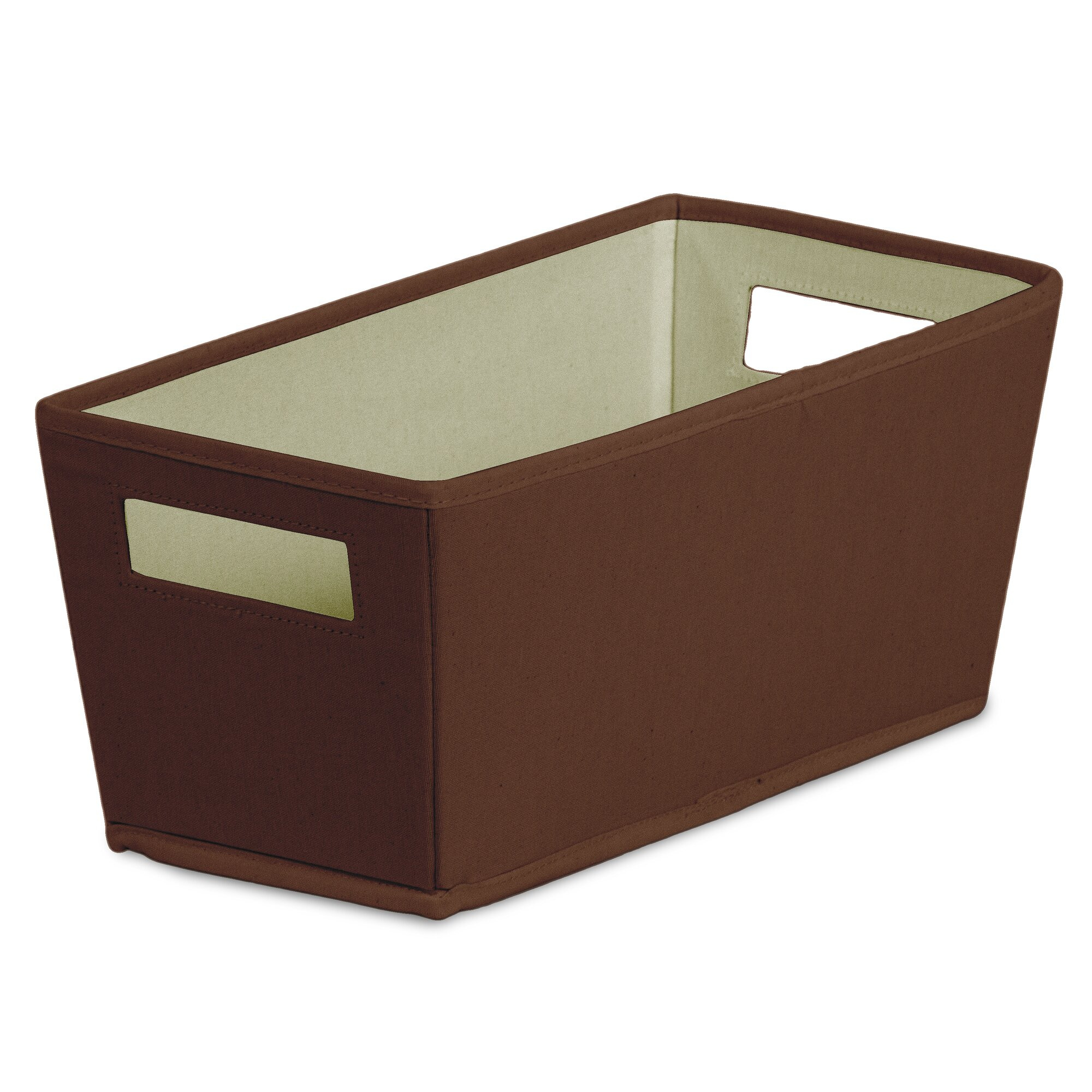 bin fabric quarter storage bin amp reviews wayfair
