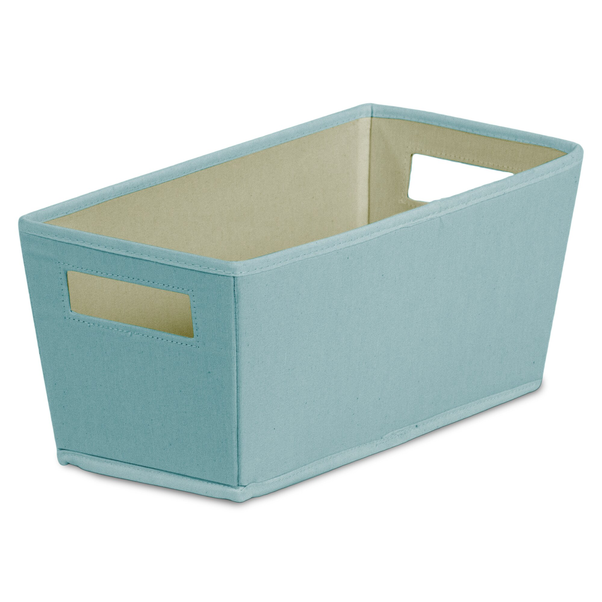Bin Fabric Quarter Storage Bin Amp Reviews Wayfair Supply