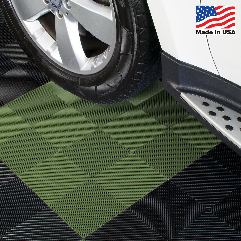 Blocktile 12 Quot X 12 Quot Deck And Patio Flooring Tile In Green