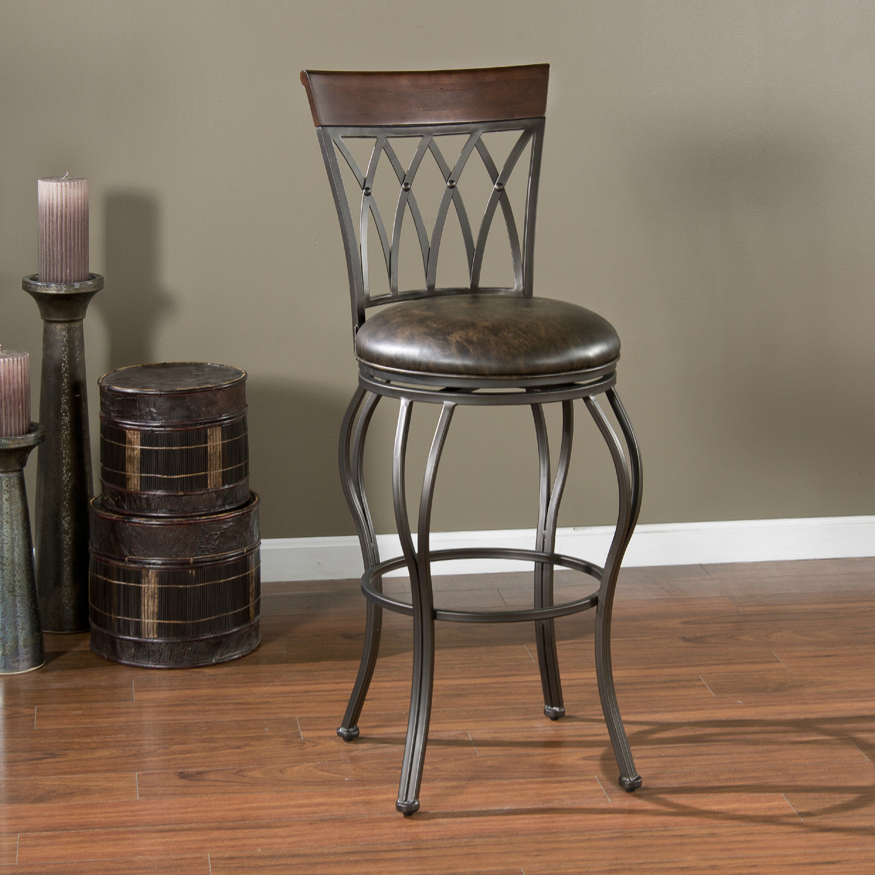 American Heritage Palermo 26 Quot Swivel Bar Stool Amp Reviews