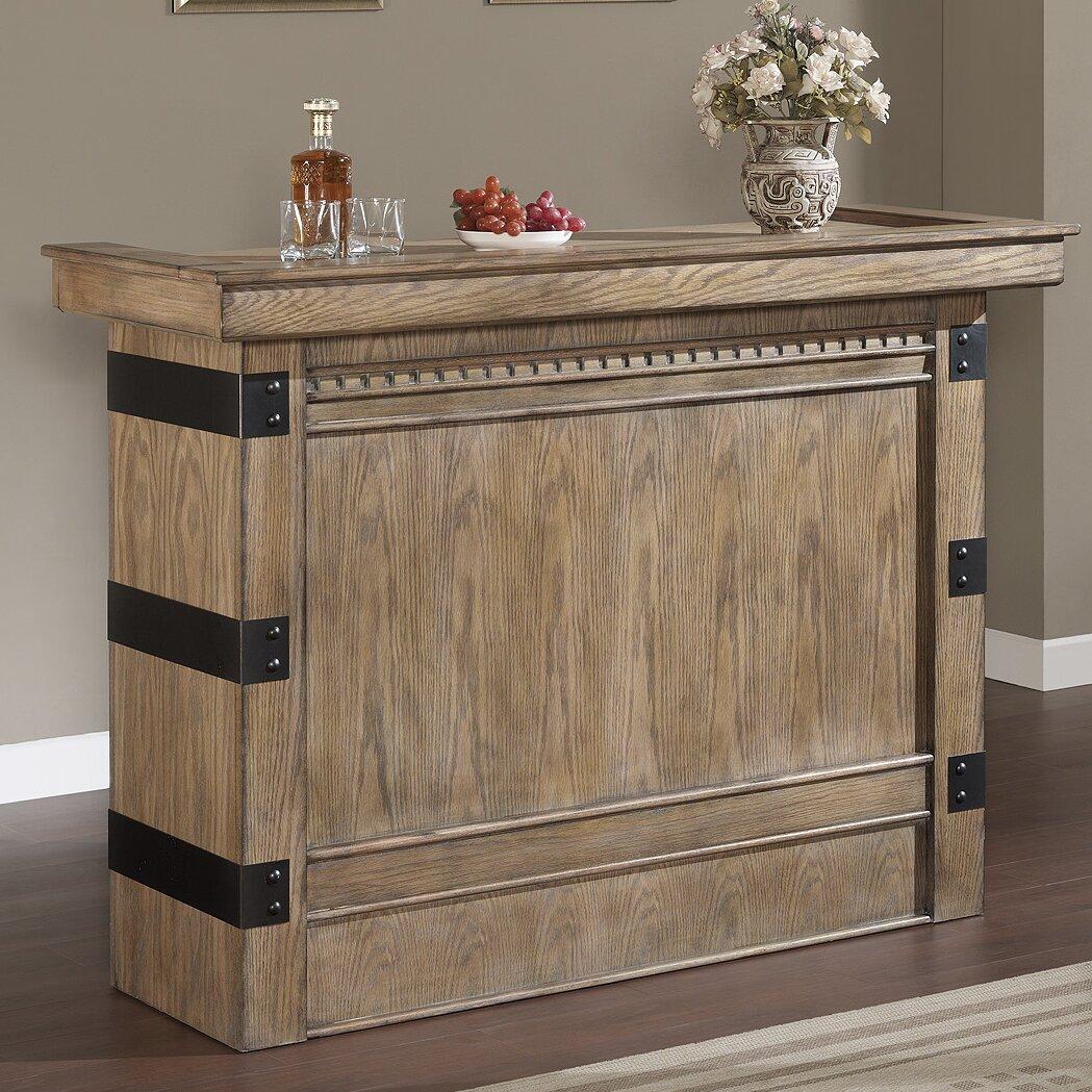 American Heritage Armono Bar With Wine Storage Reviews Wayfair