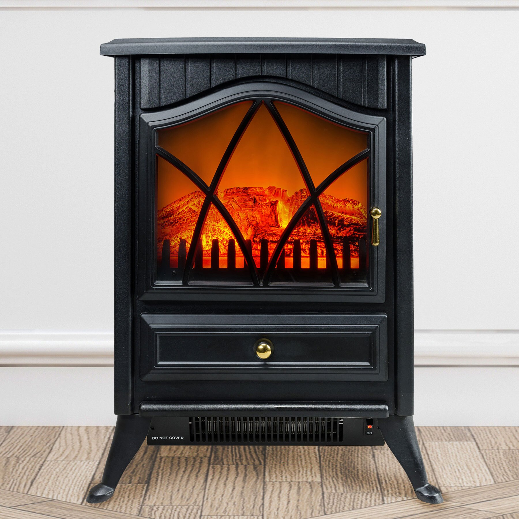 Akdy 400 Sq Ft Free Standing Electric Stove Reviews Wayfair
