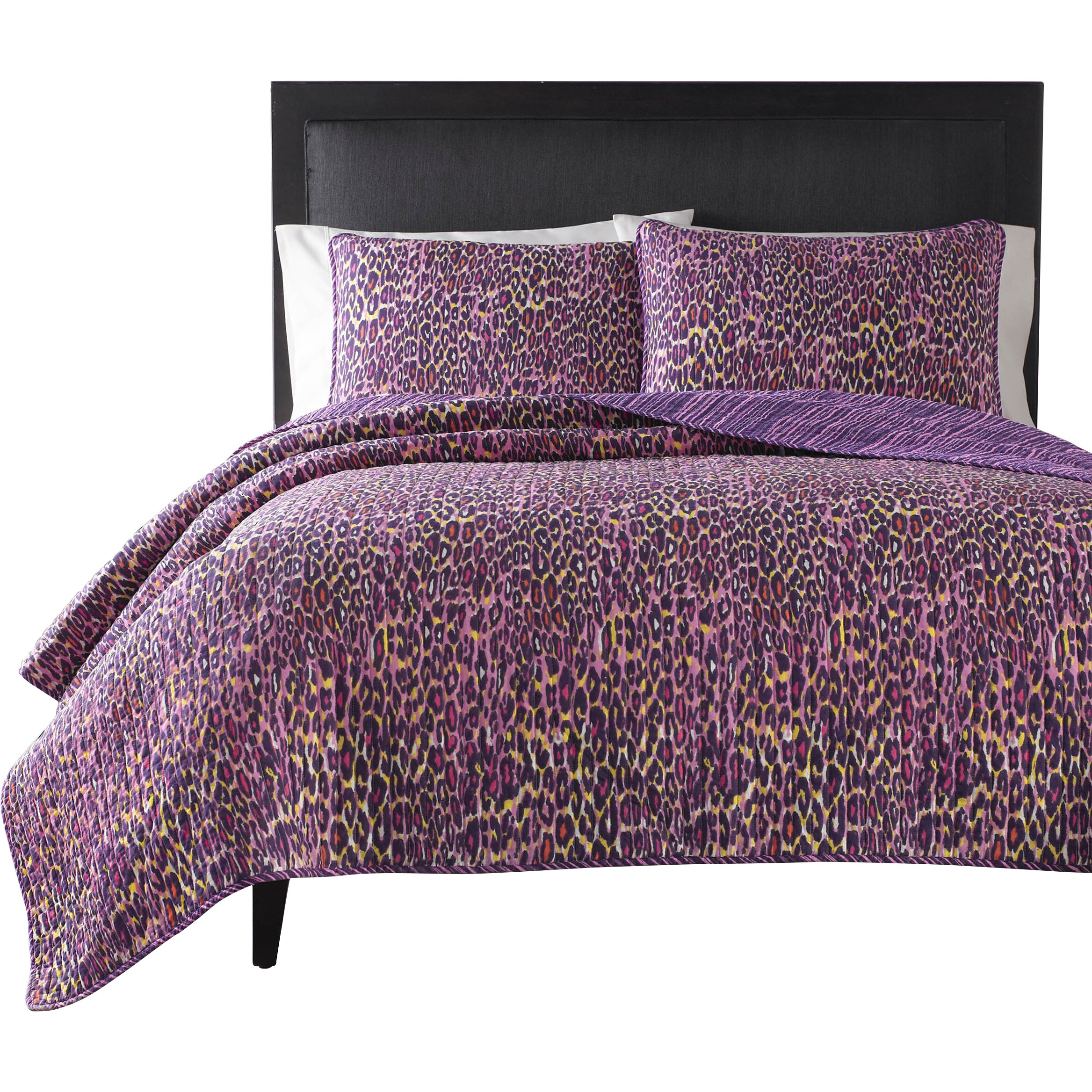 Betsey Johnson Leopard Quilt Set Reviews Wayfair
