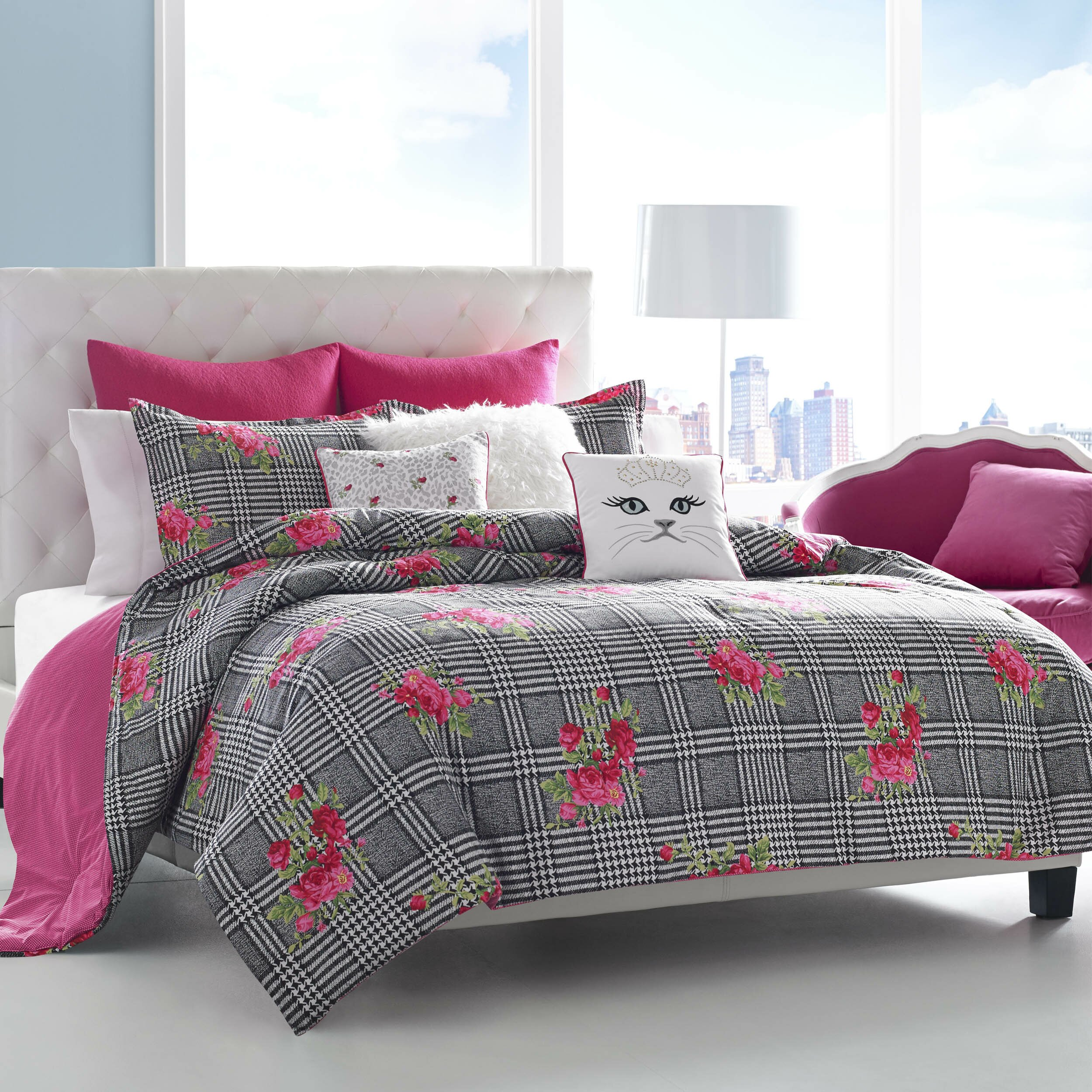 Betsey Johnson Polished Punk Comforter Set Reviews Wayfair