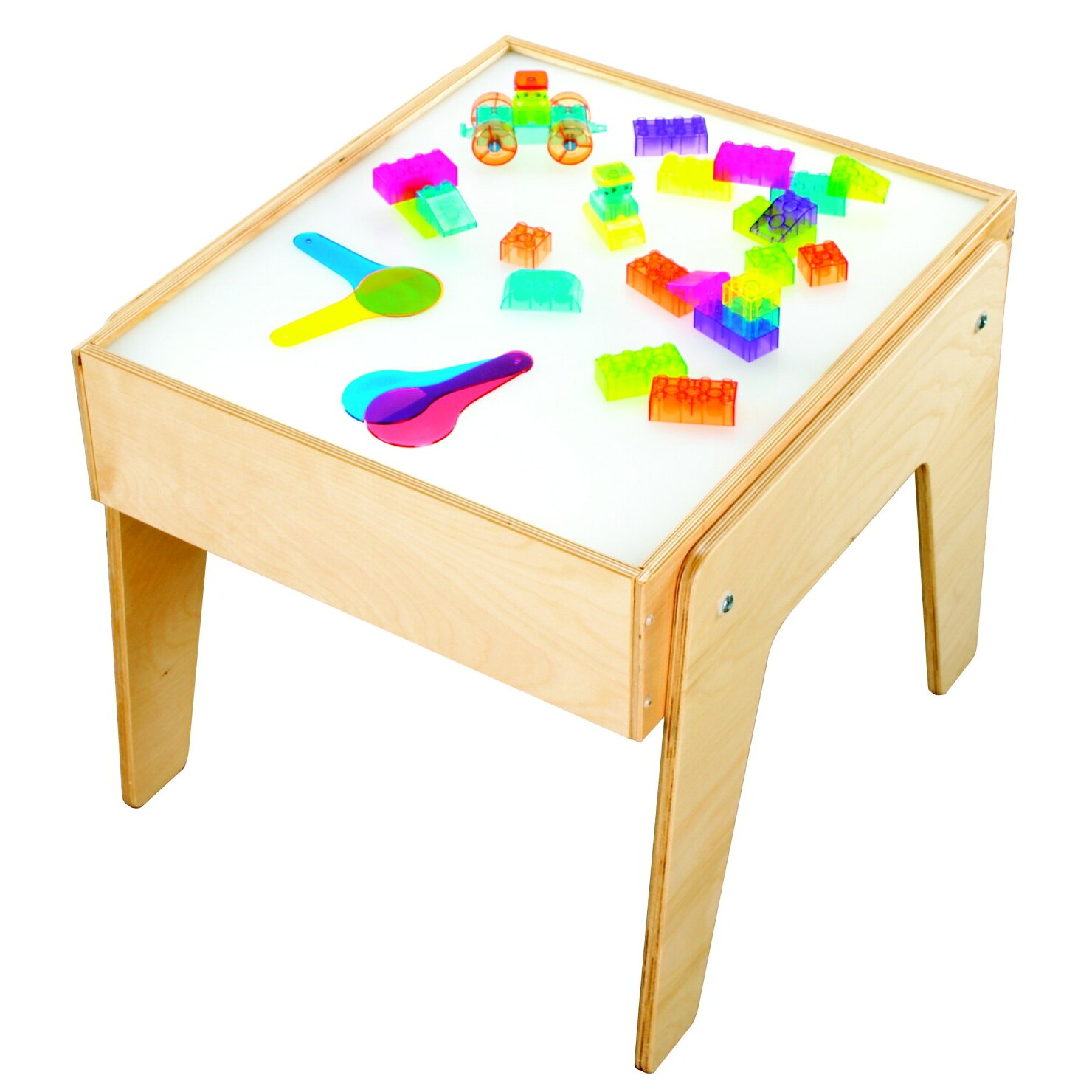 Childcraft square mini light art and crafts table