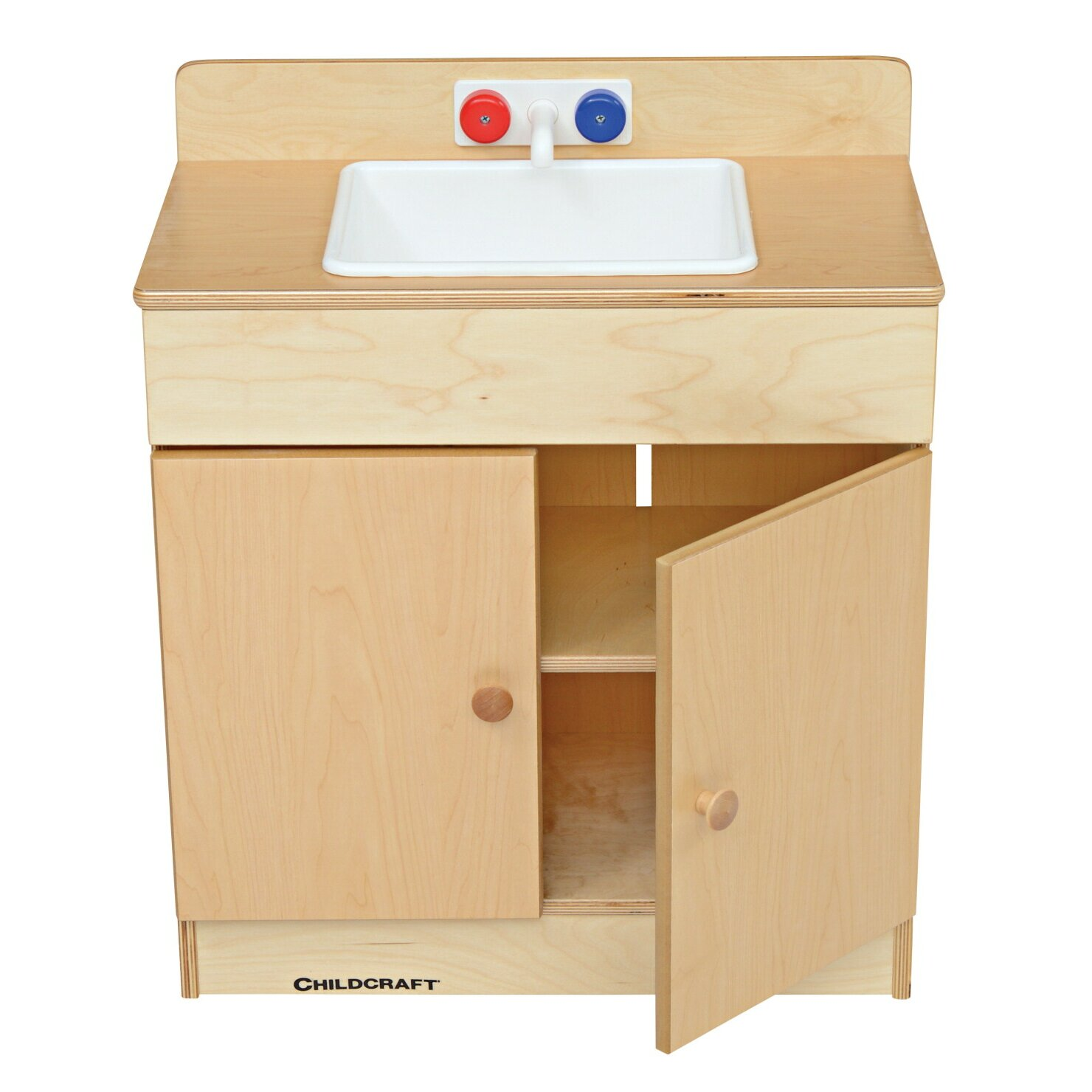 Childcraft traditional play sink reviews wayfair for Child craft play kitchen