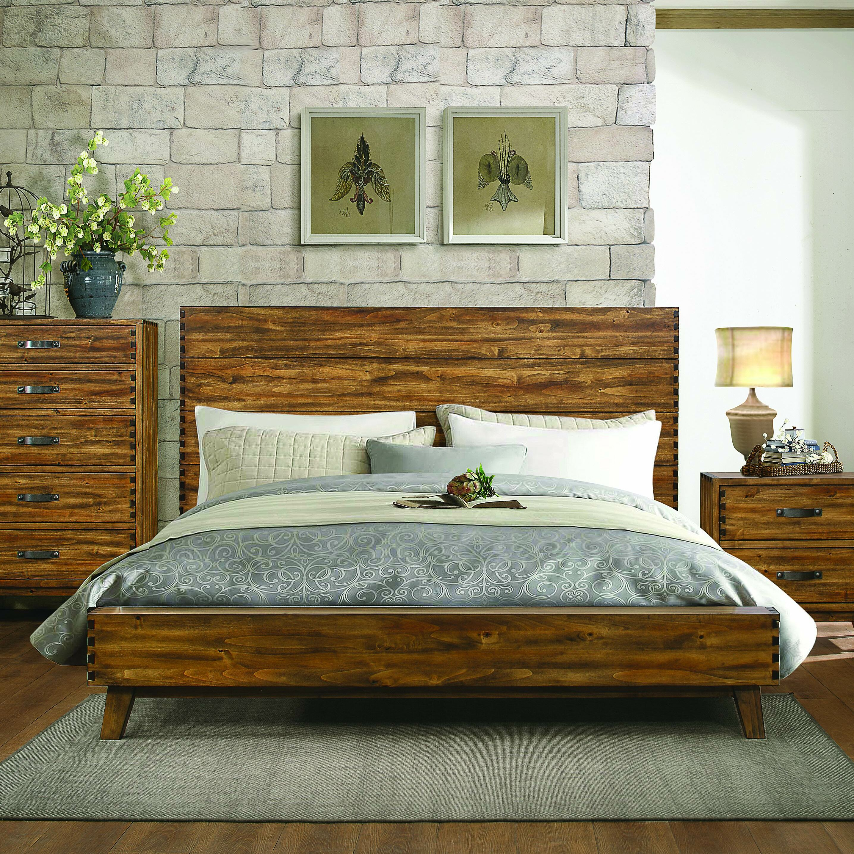 homelegance sorrel platform customizable bedroom set