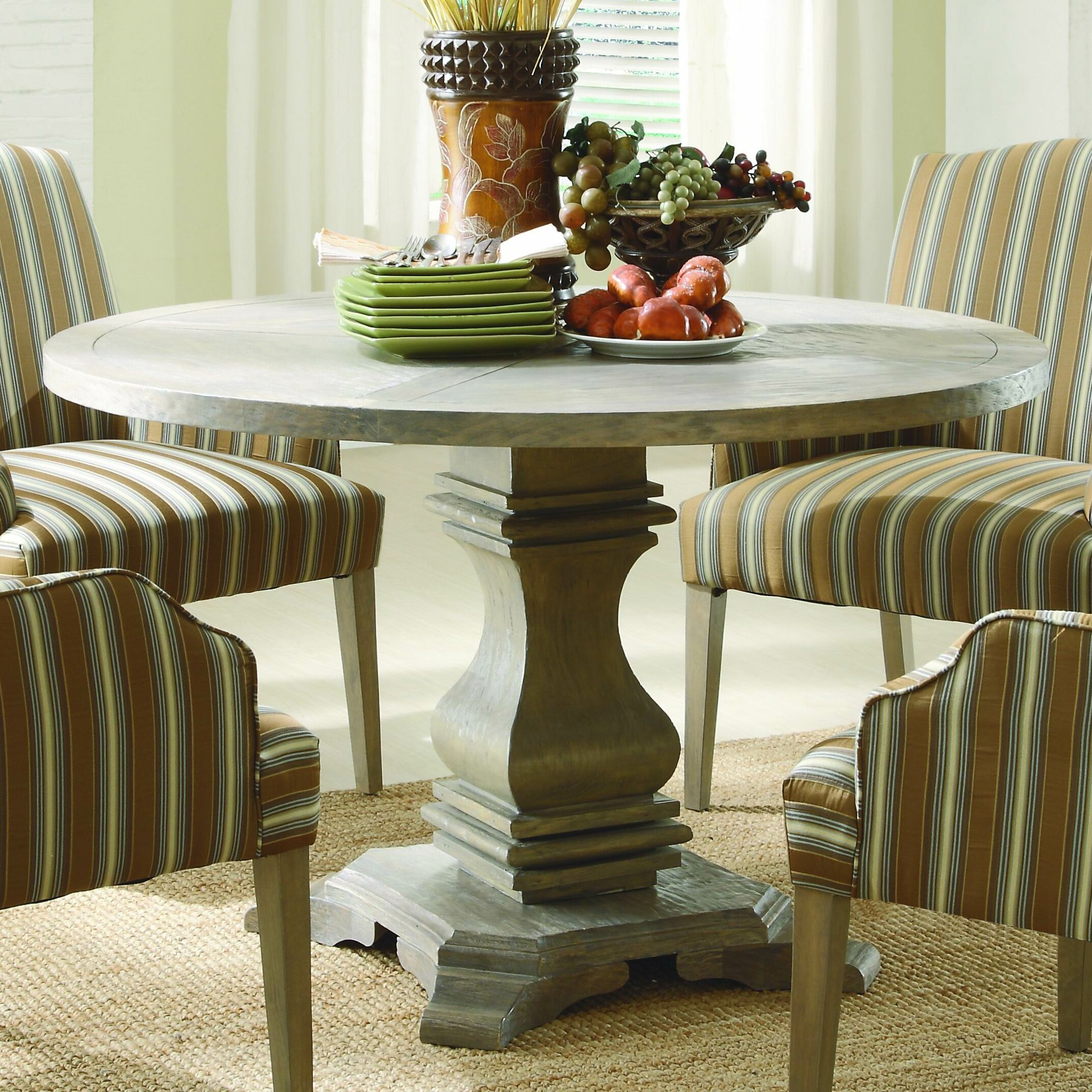 Homelegance euro casual dining table reviews wayfair for Casual dining table decor