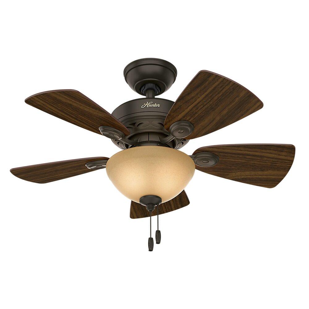 """Hunter Fan 34"""" Watson 5 Blade Ceiling Fan & Reviews"""