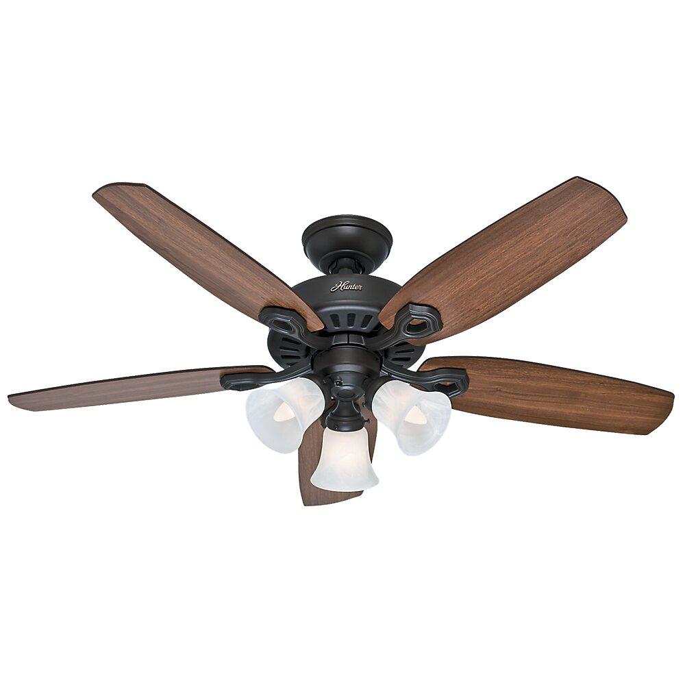 Hunter Fan 42 Builder 5 Blade Ceiling Fan Amp Reviews