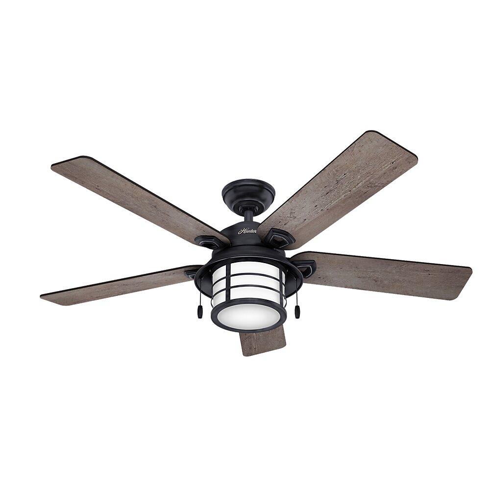 Hunter Fan 54 Key Biscayne 5 Blade Ceiling Fan Amp Reviews