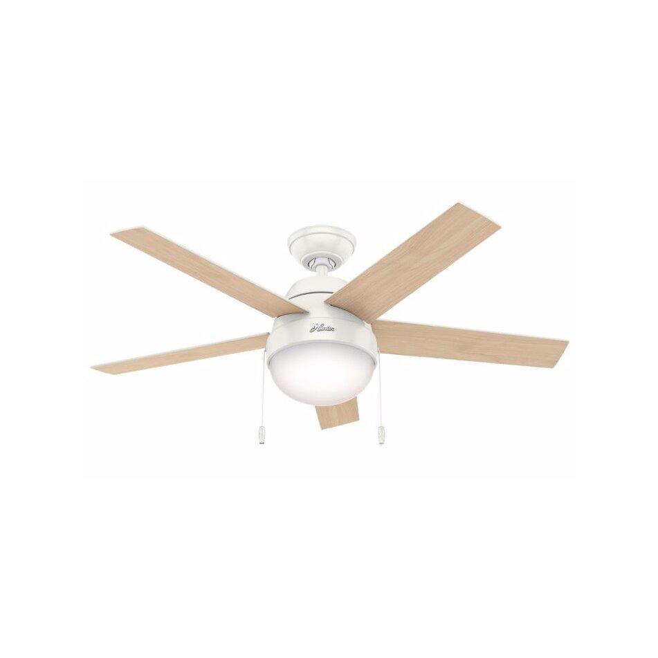 Hunter Fan 46 Anslee 5 Blade Ceiling Fan Amp Reviews