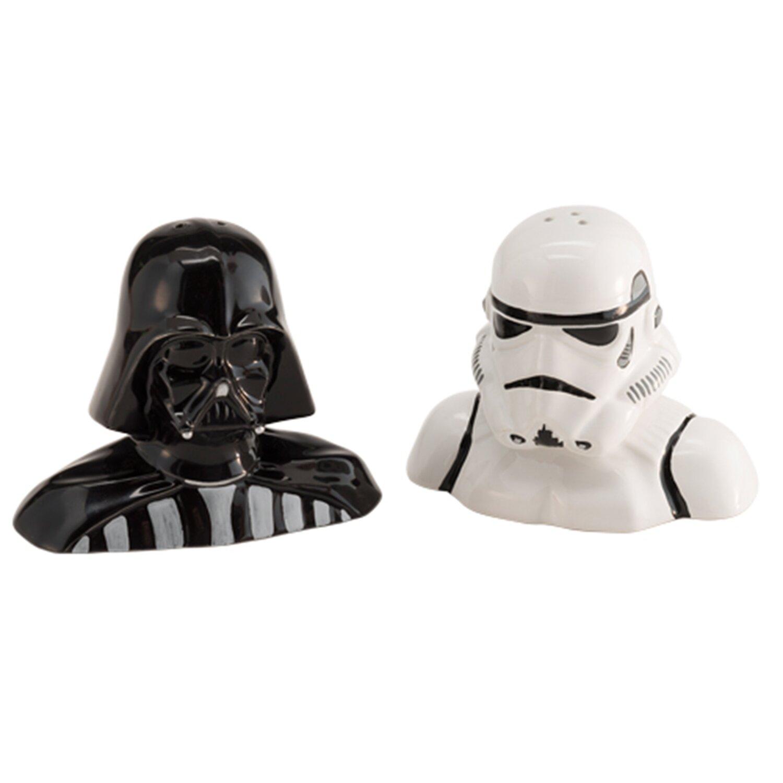 Vandor star wars darth vader and storm trooper salt and - Darth vader and stormtrooper salt and pepper shakers ...