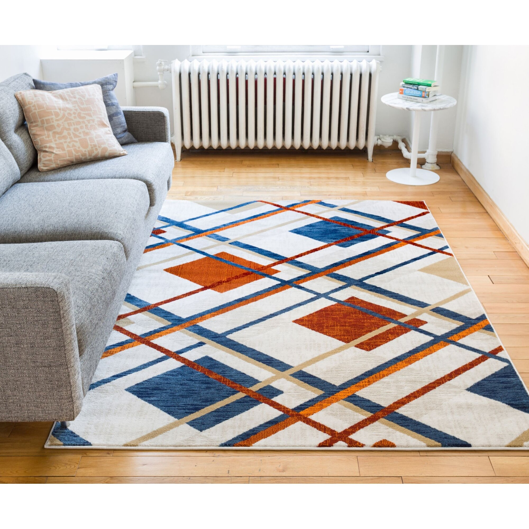 Plaid Rug: Well Woven Amba Williamsburg Tartan Beige Area Rug