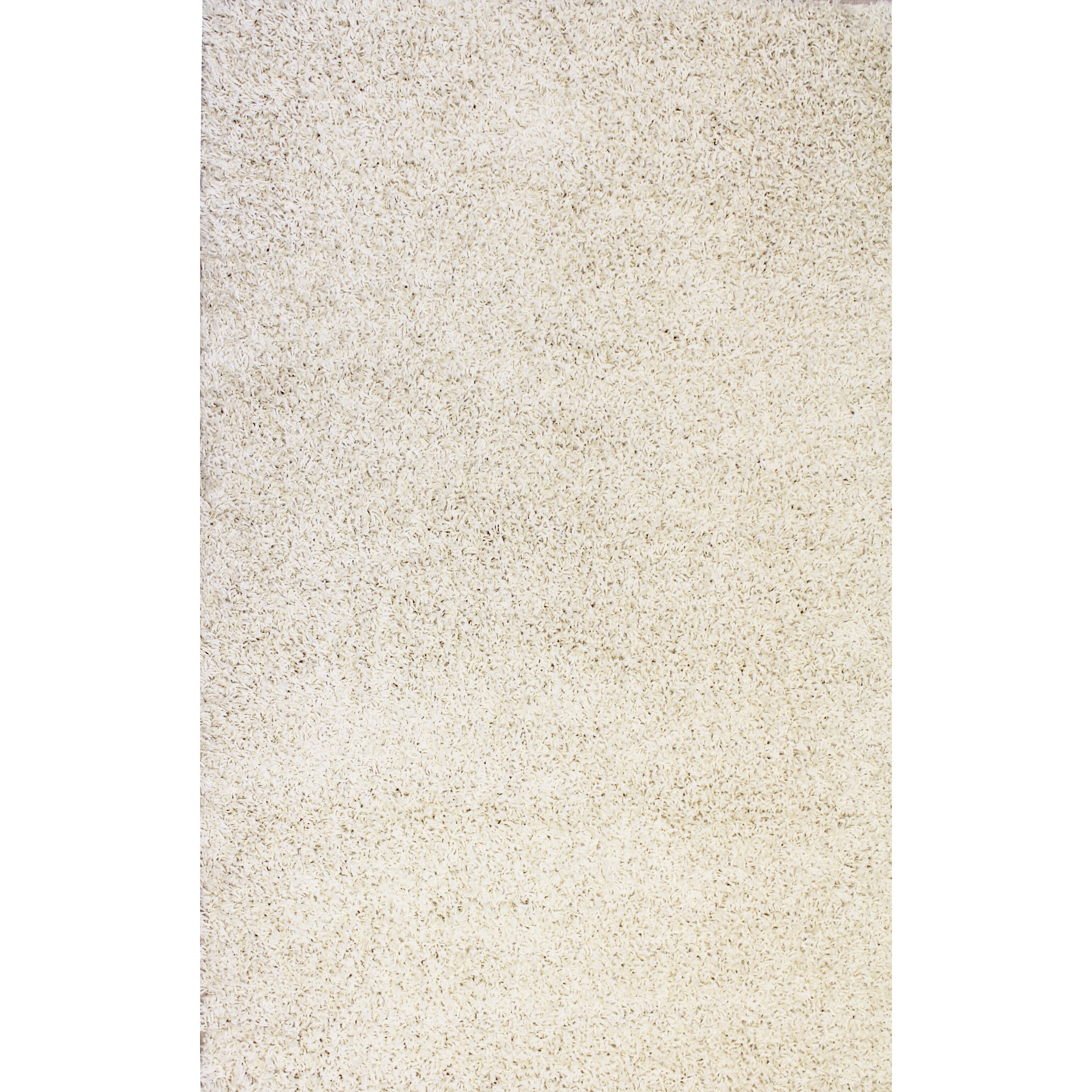 Well Woven Madison Shag Vanilla Plain Area Rug Amp Reviews