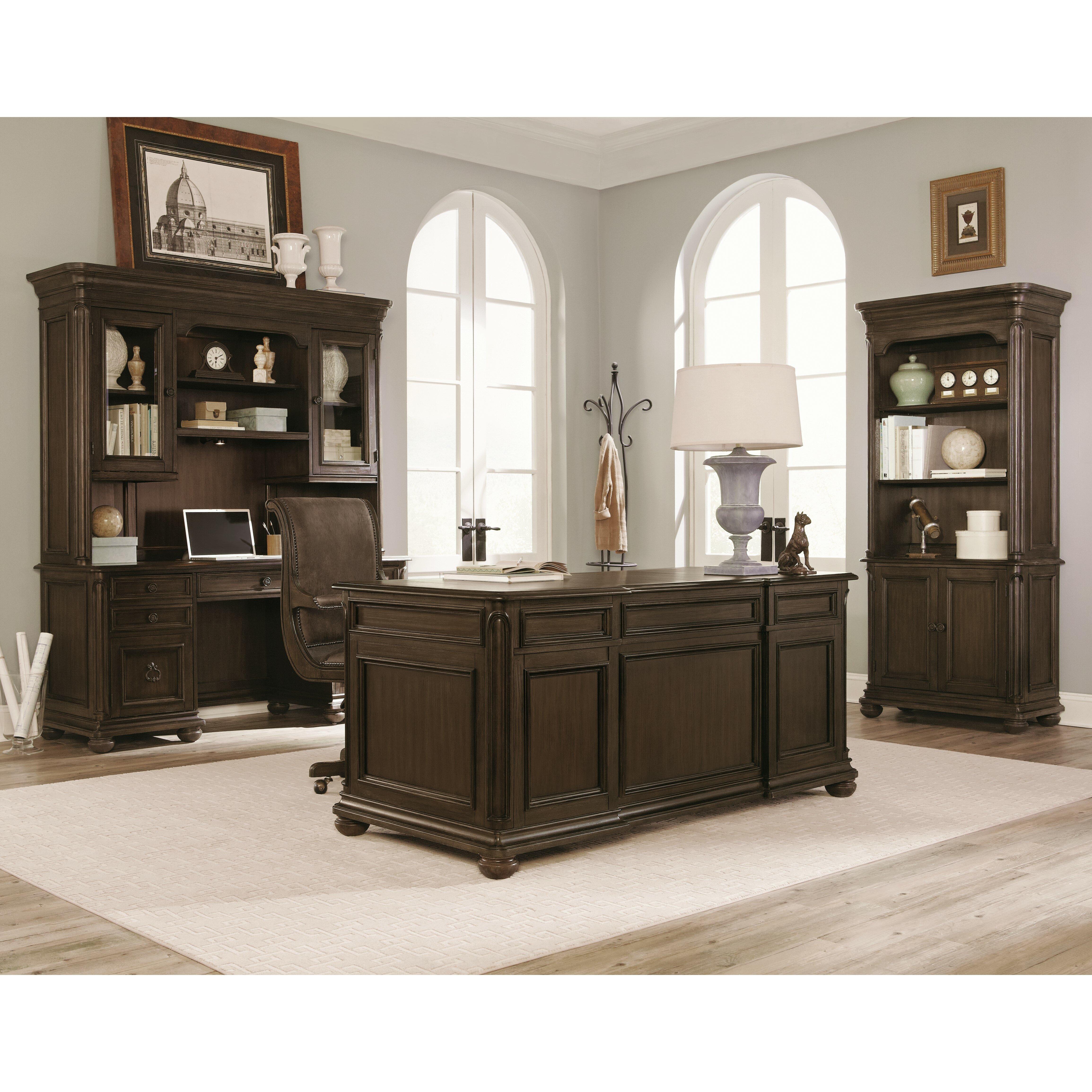 Magnussen Broughton Hall Executive Desk With 7 Drawer Wayfair