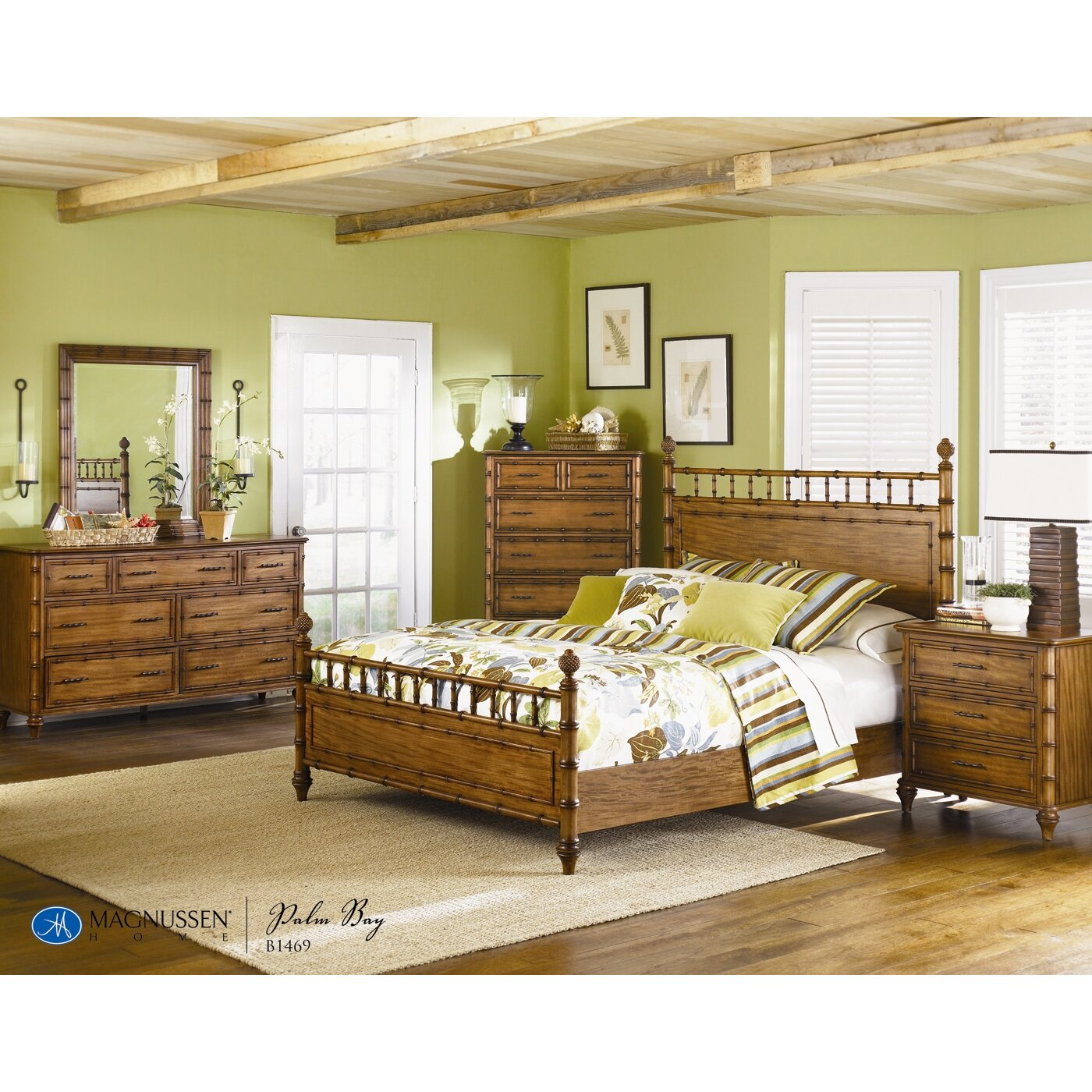Magnussen Palm Bay Wood Headboard Reviews Wayfair