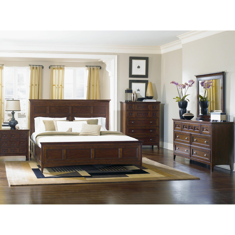 magnussen harrison panel customizable bedroom set