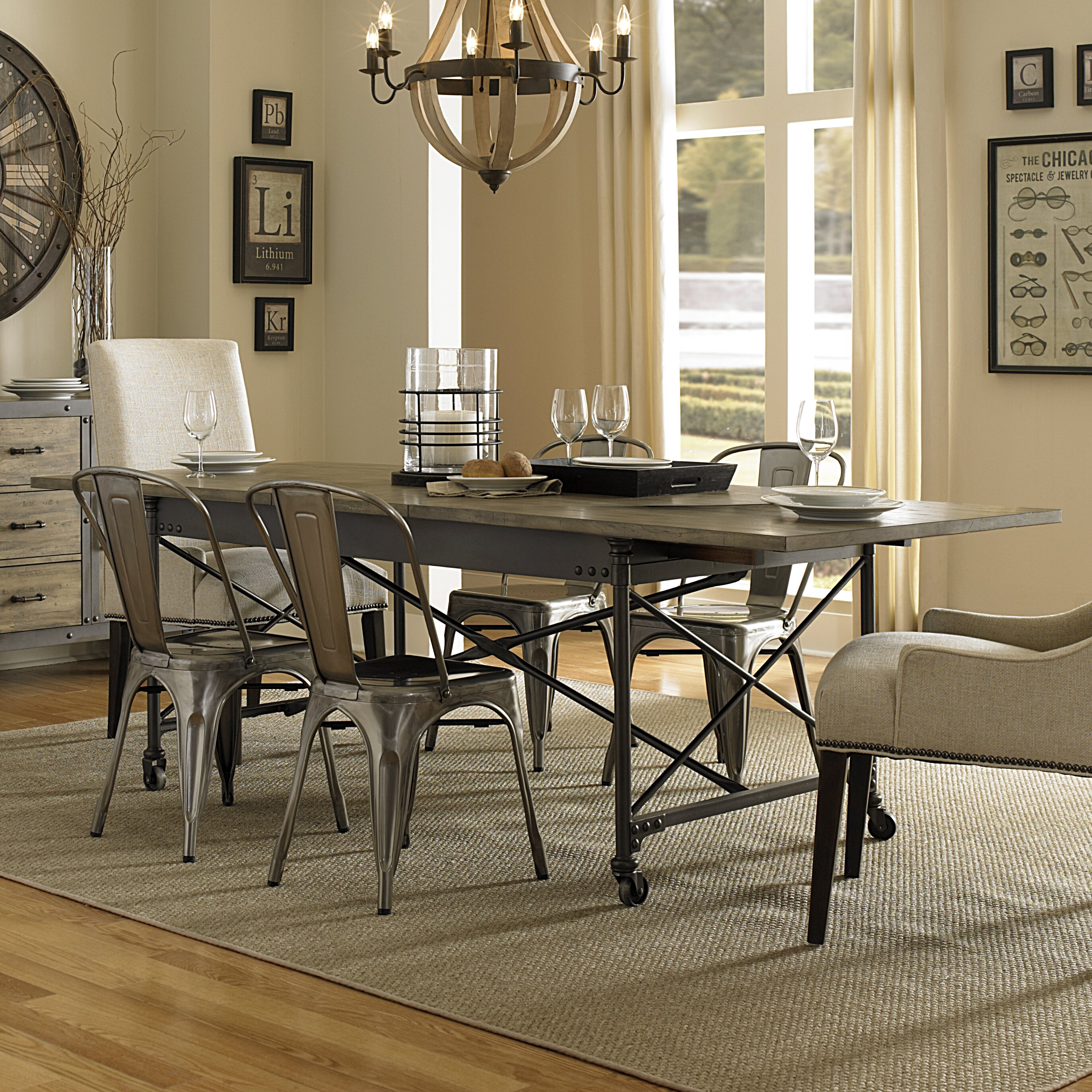 Magnussen walton dining table reviews wayfair