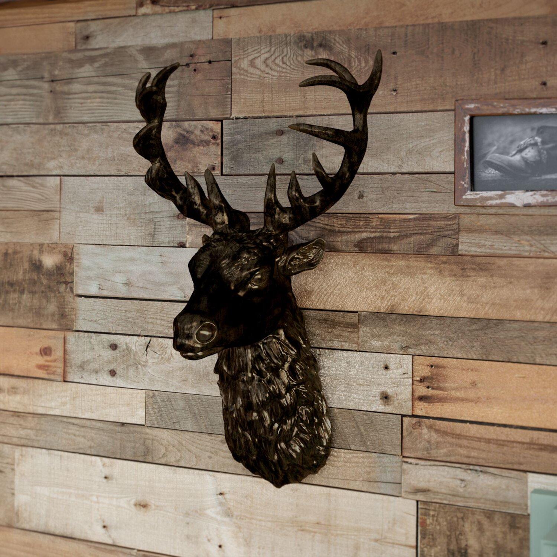 AlpenHome Gypsum Stags Head Wall Decor & Reviews