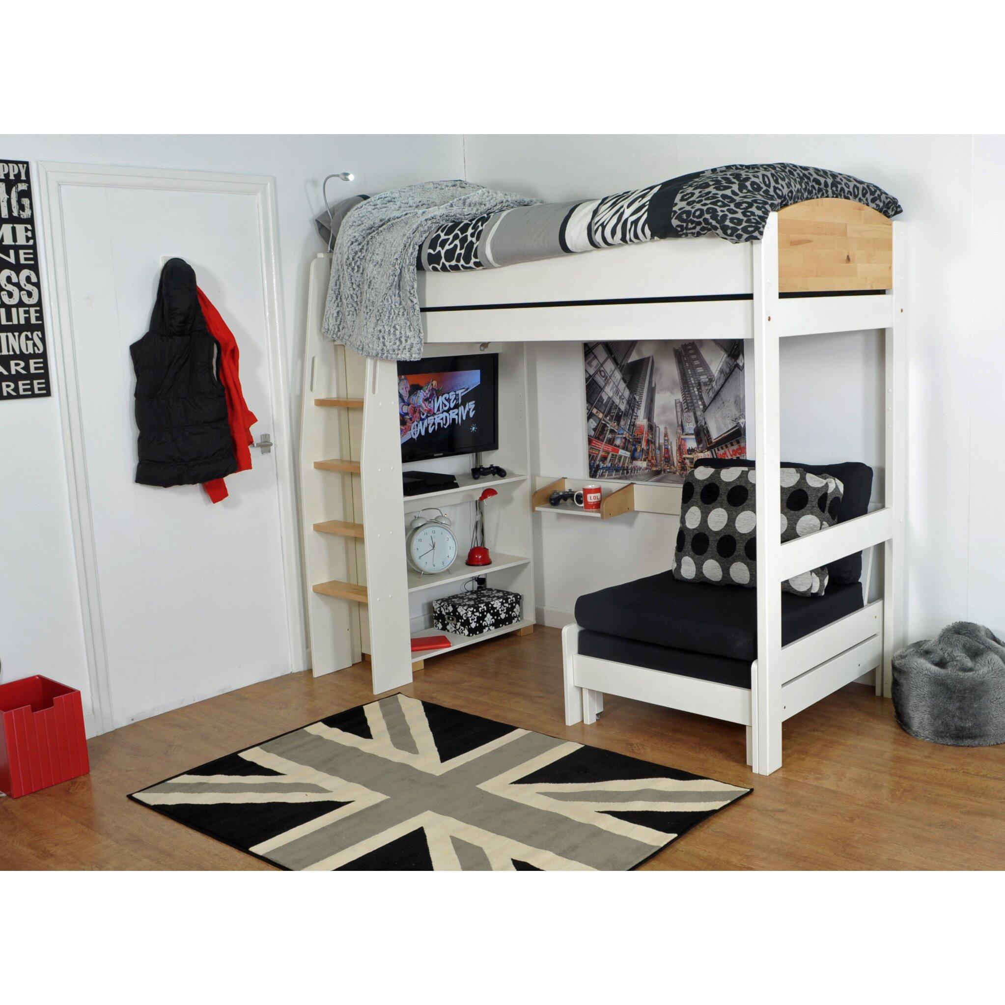 Wrigglebox Norfolk Single High Sleeper Bed | Wayfair UK
