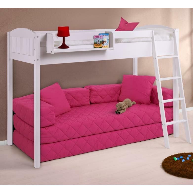 wrigglebox ida country european single high sleeper bed reviews wayfair uk. Black Bedroom Furniture Sets. Home Design Ideas