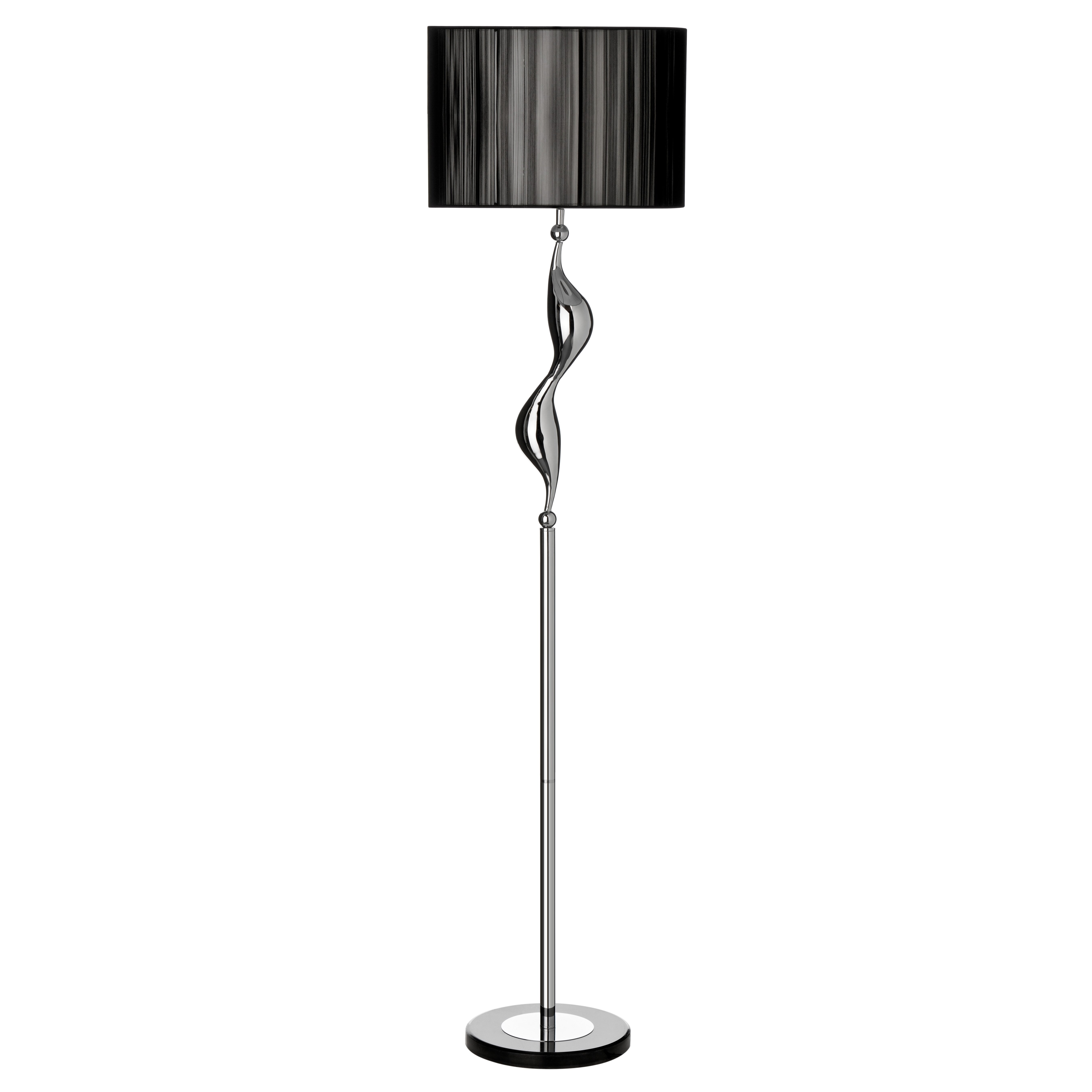 All home wavy 160cm floor lamp reviews wayfair uk for 100 floors valentines floor 9