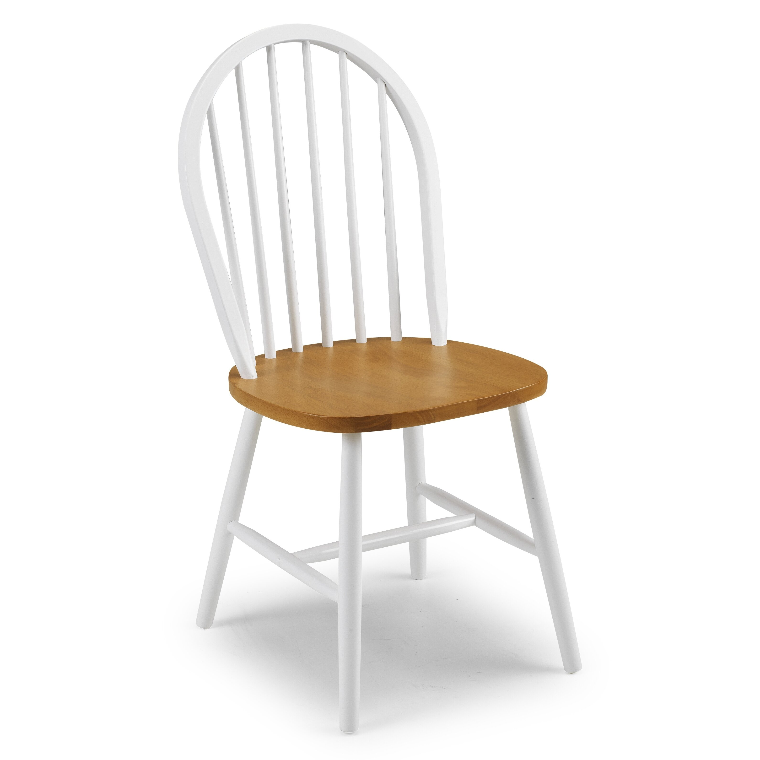 All Home Nora Solid Wood Dining Chair & Reviews